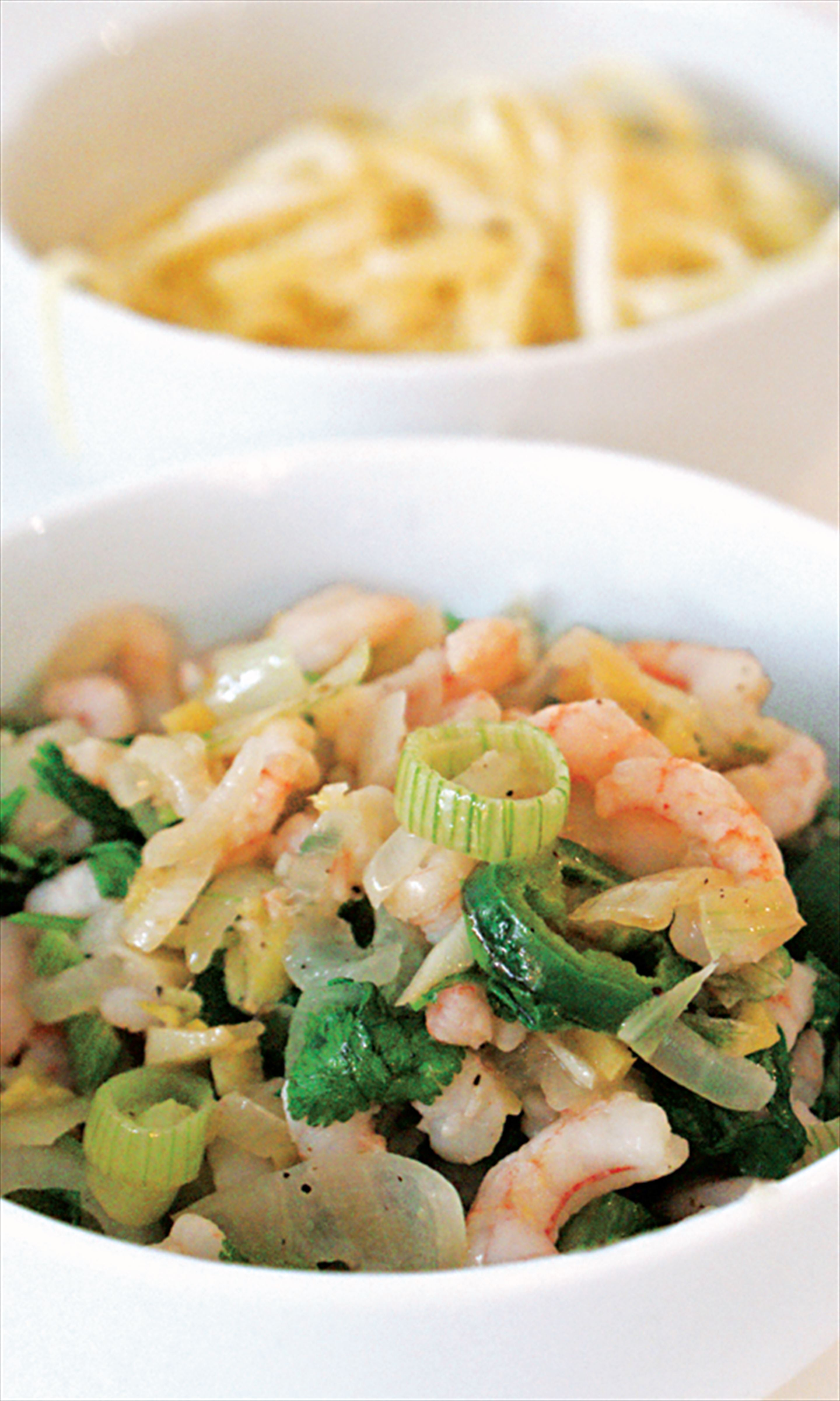 Prawn and coconut stir-fry