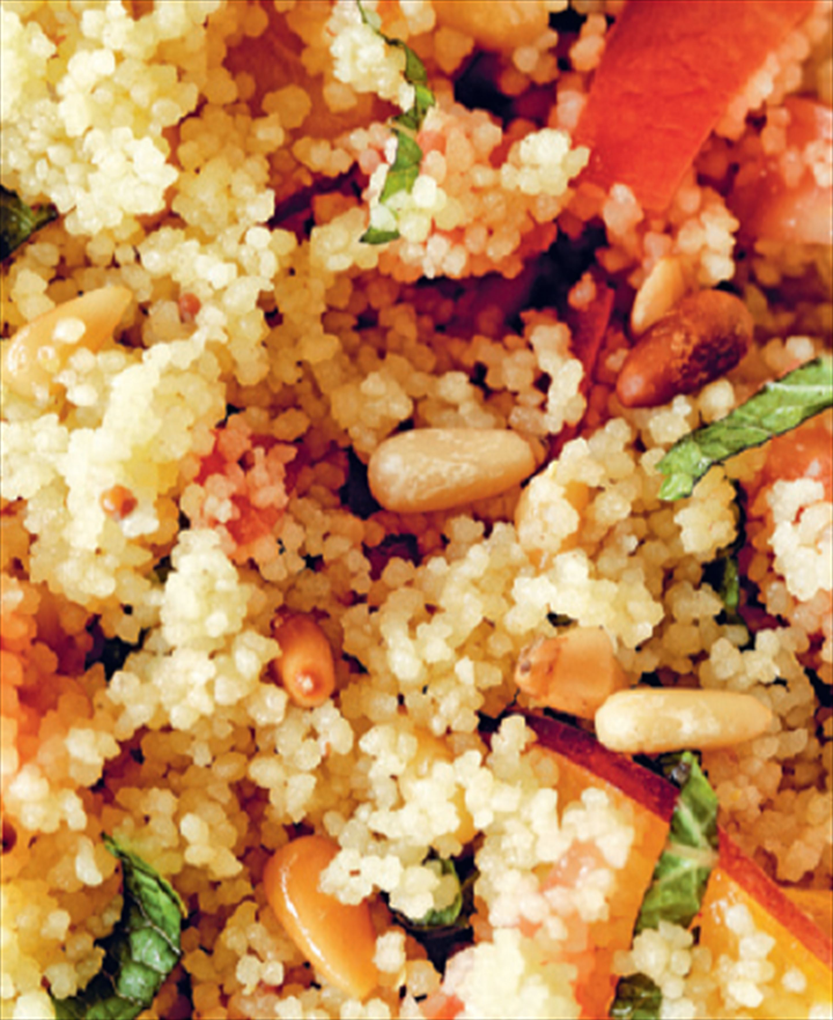 Fruity & summery couscous salad