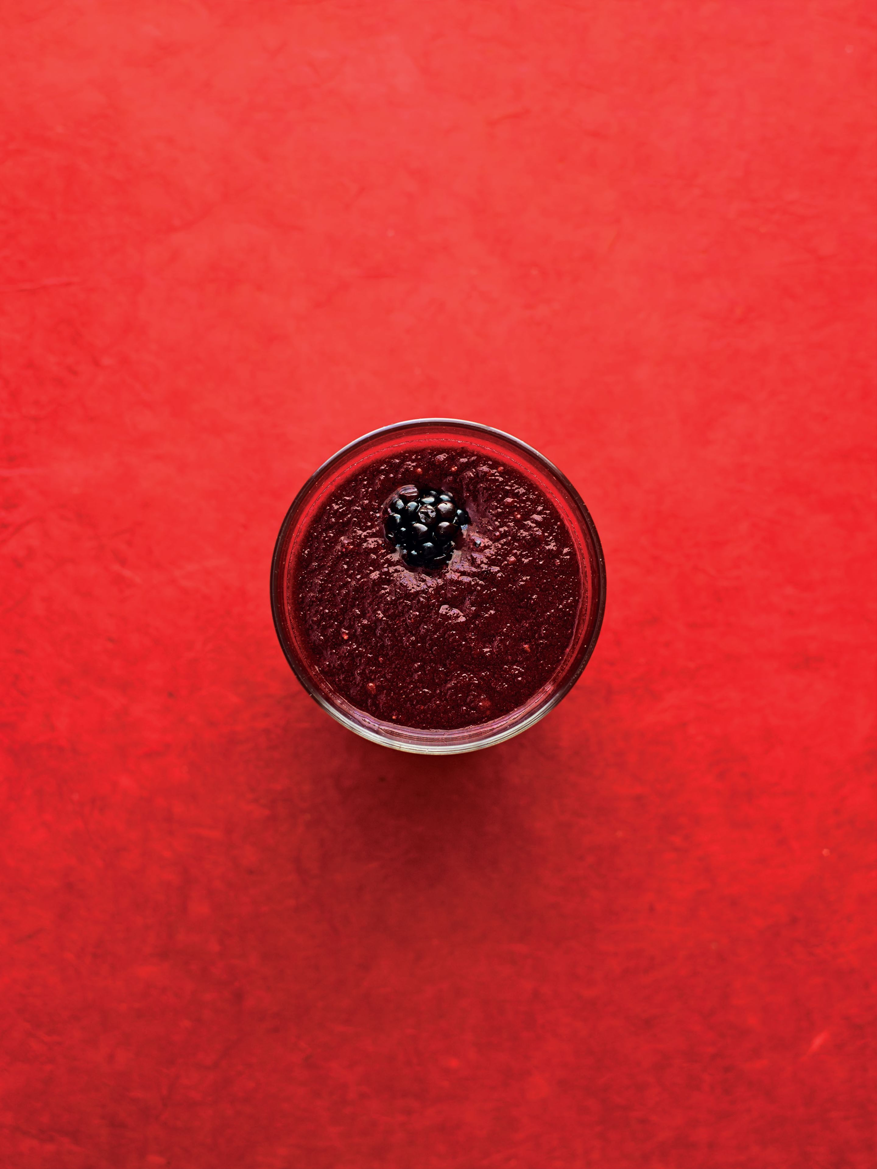 Apple, blackberry and beetroot refresher