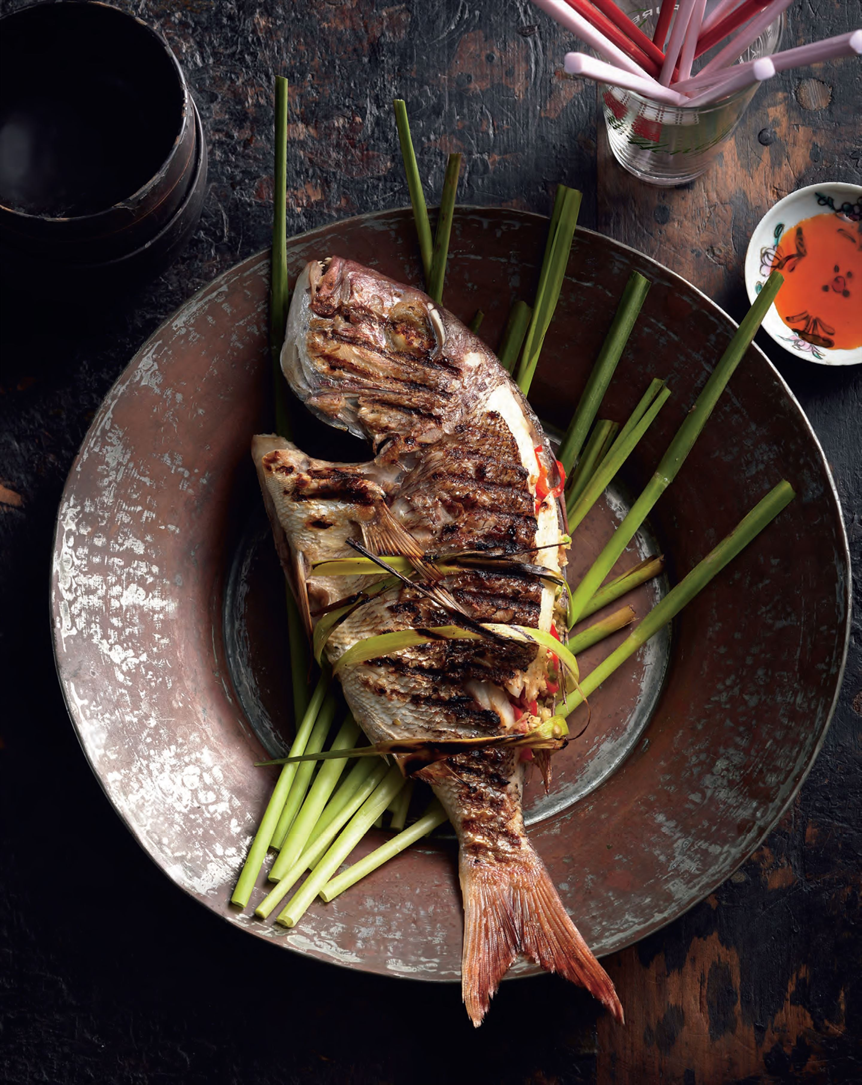 Chargrilled lemongrass tilapia