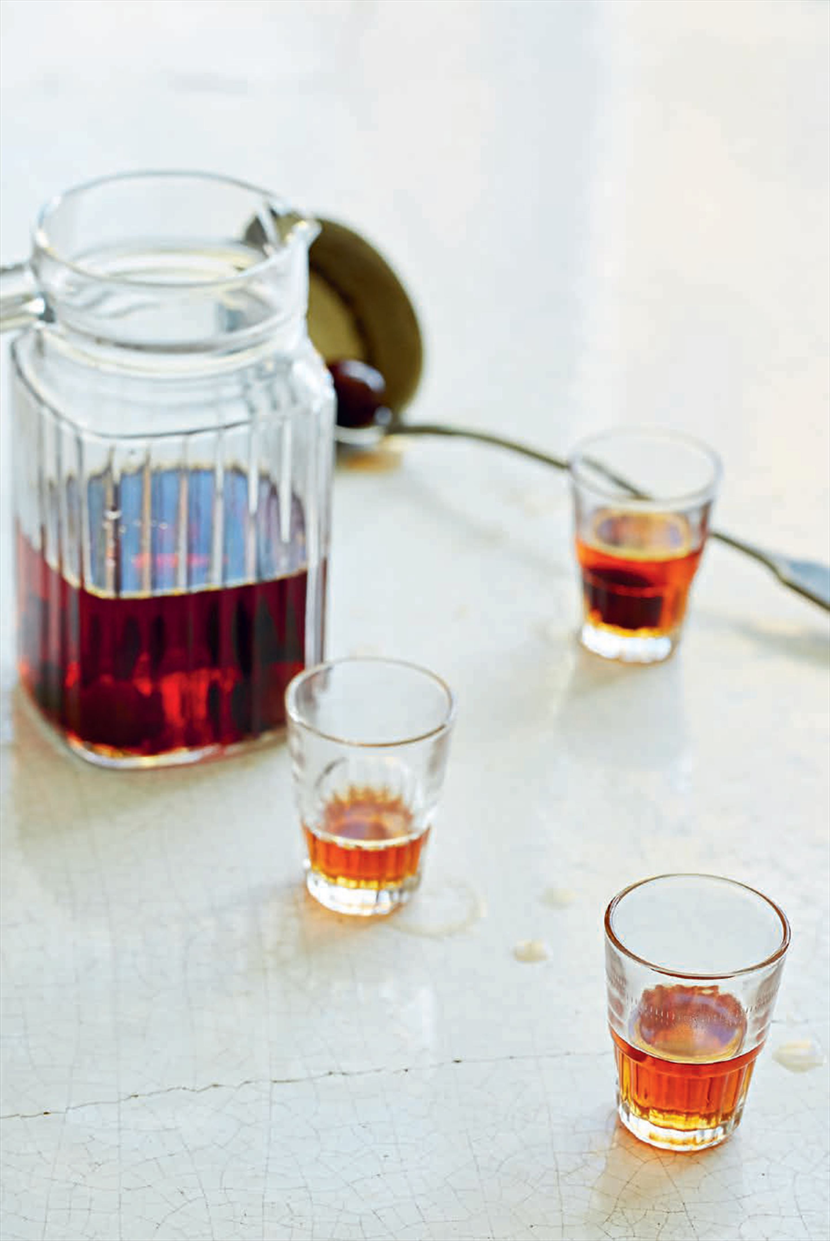 Sour cherry liqueur