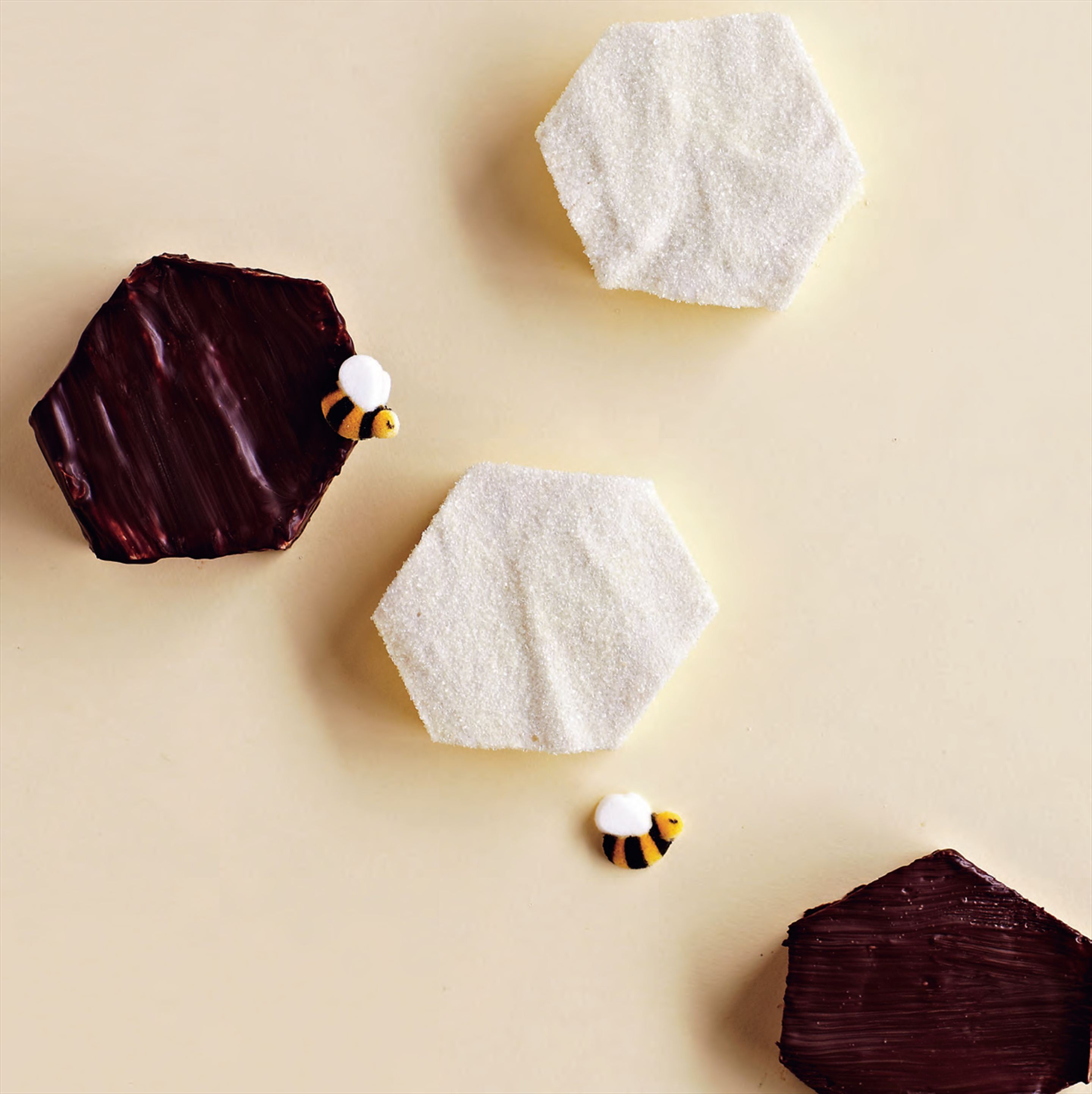 Chocolate honeycomb marshmallows