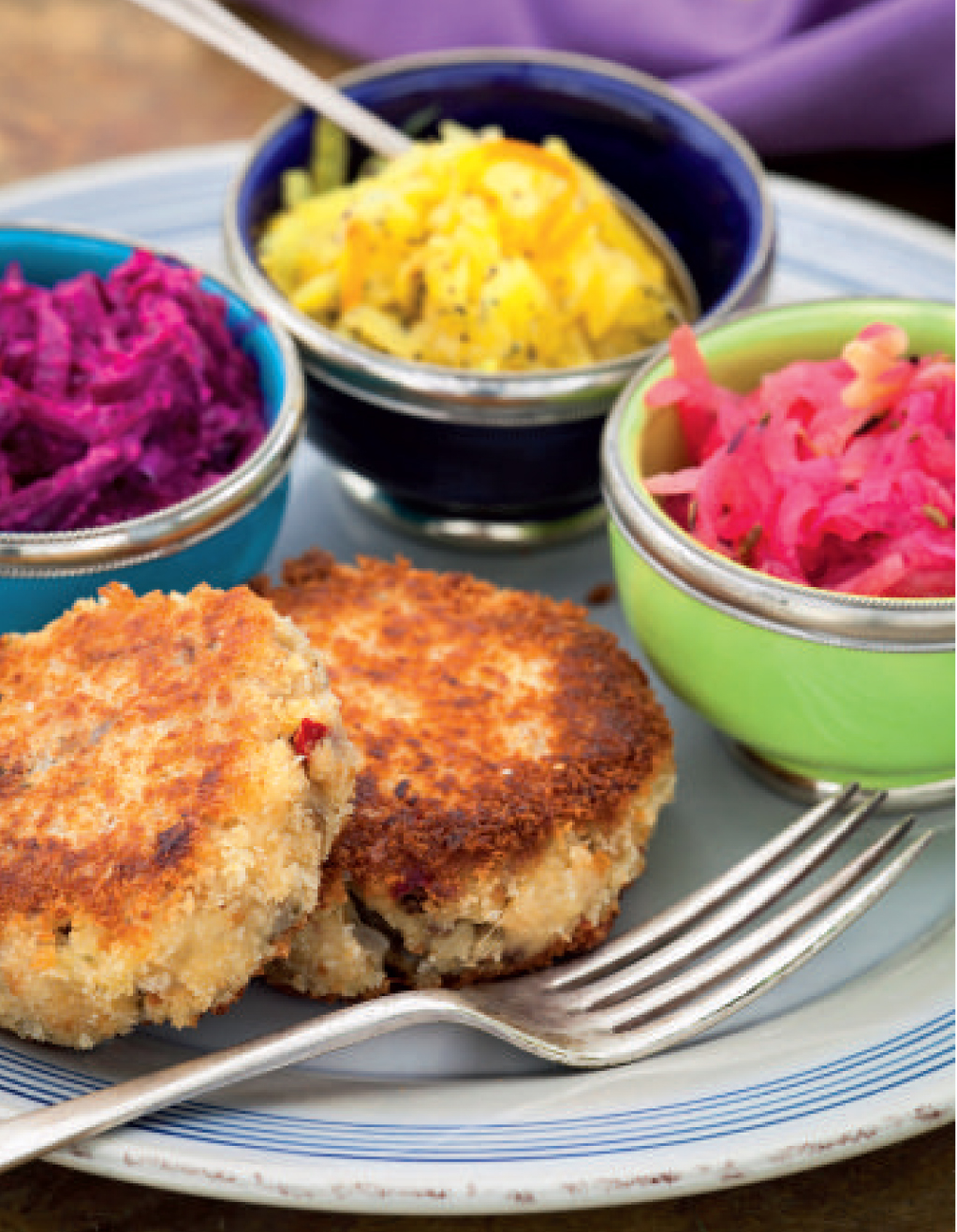 Smoked mackerel and parsnip fishcakes