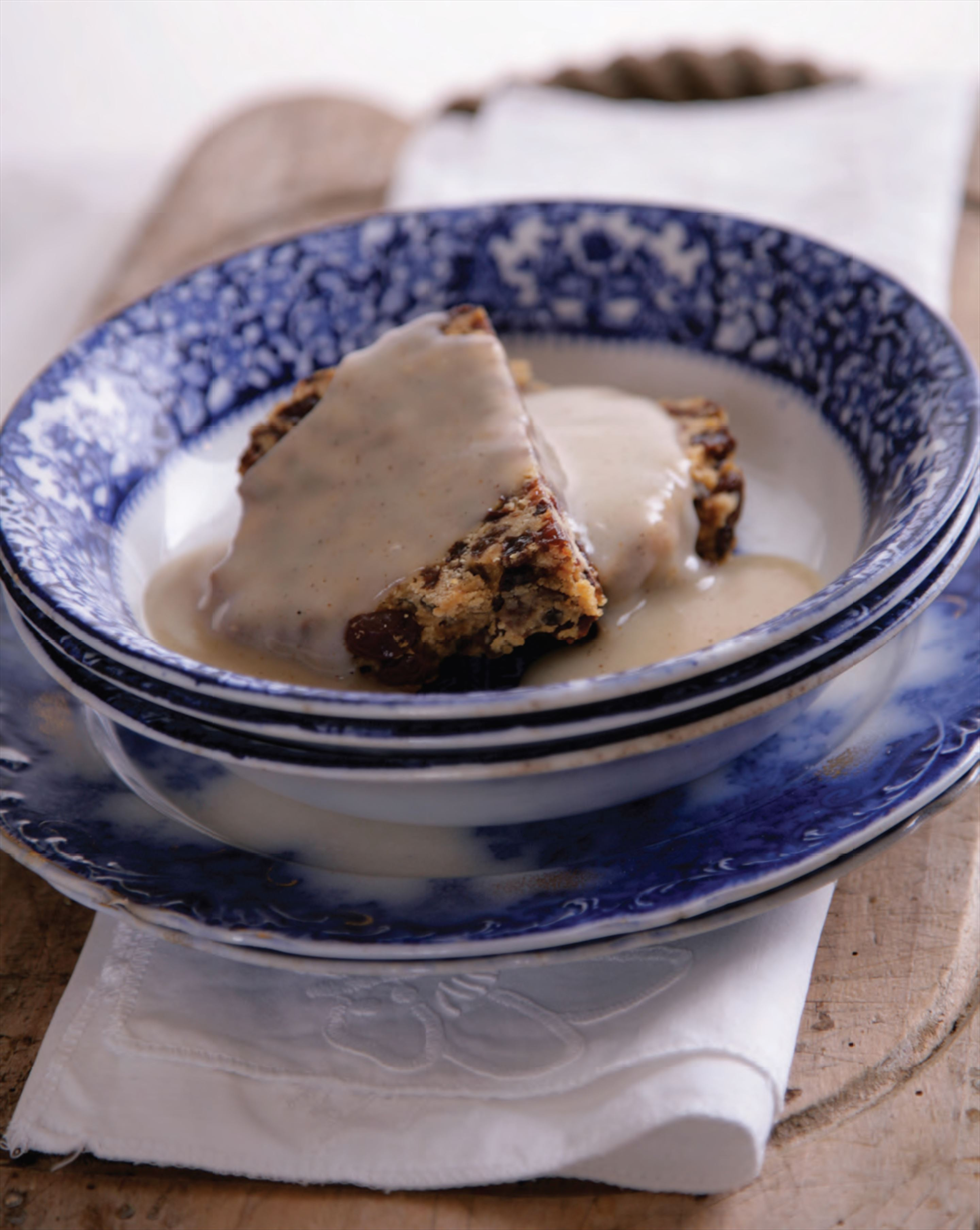 Dulcie's famous Christmas pudding