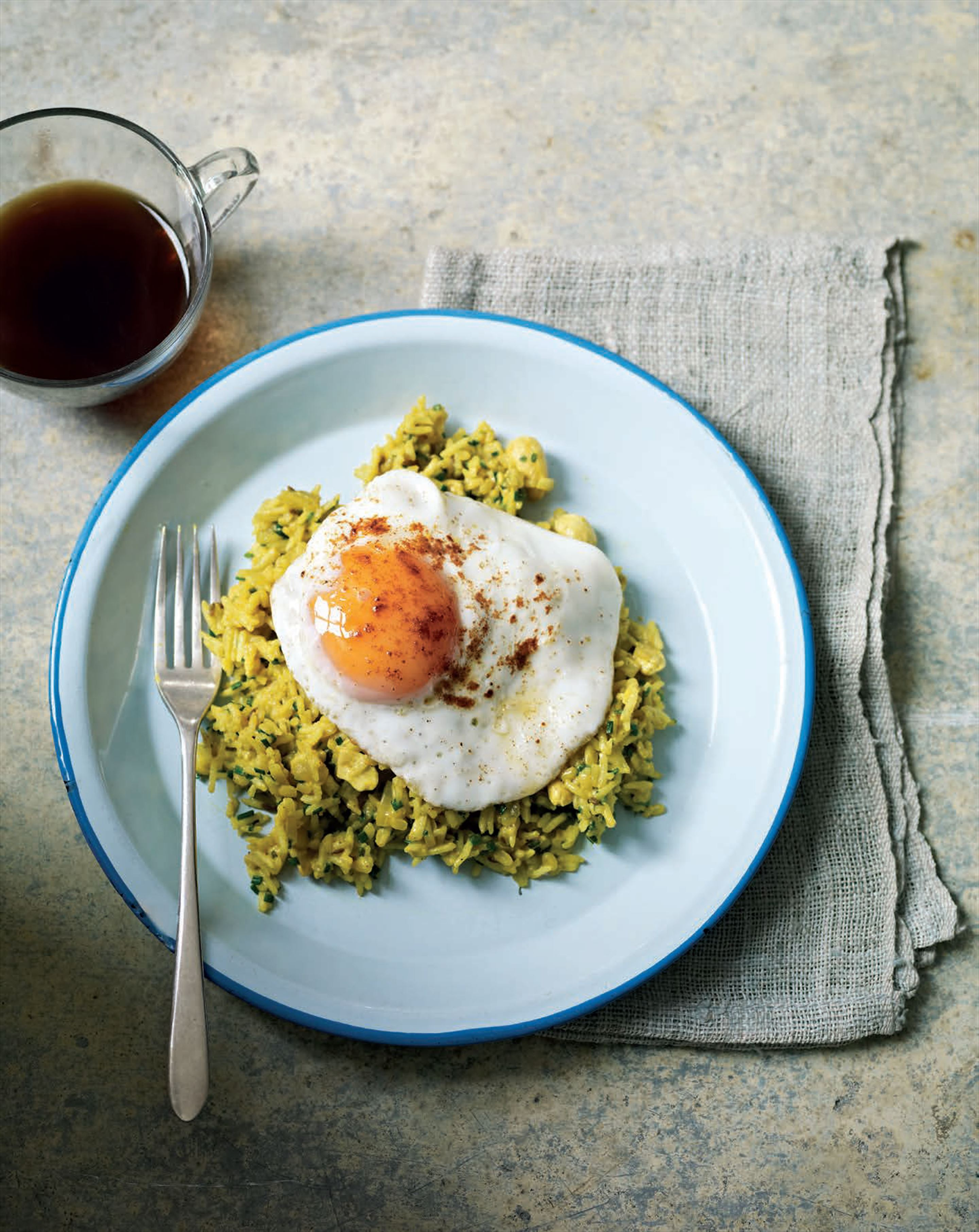 Creamy kedgeree