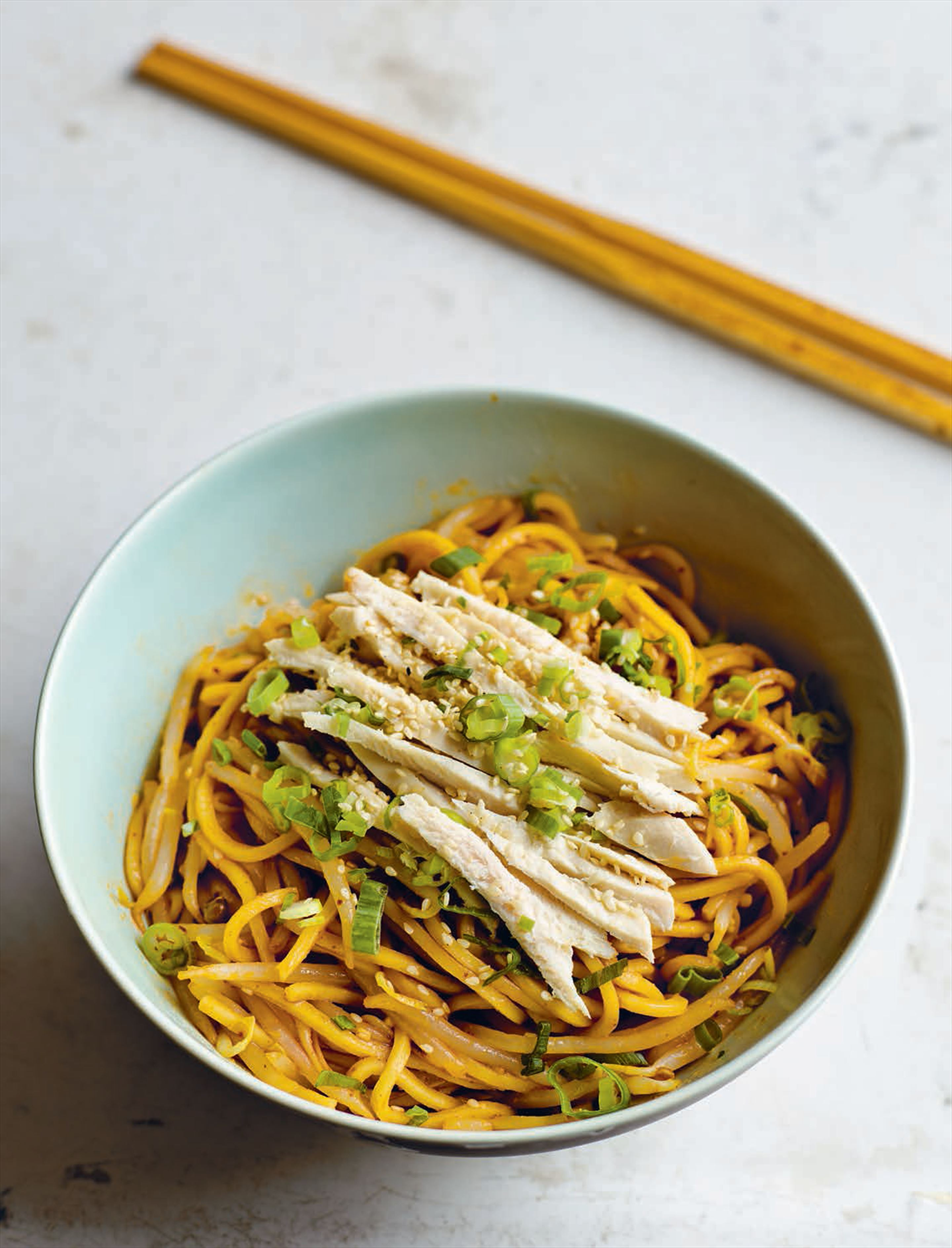 Mrs Yu's sweet and spicy cold noodles