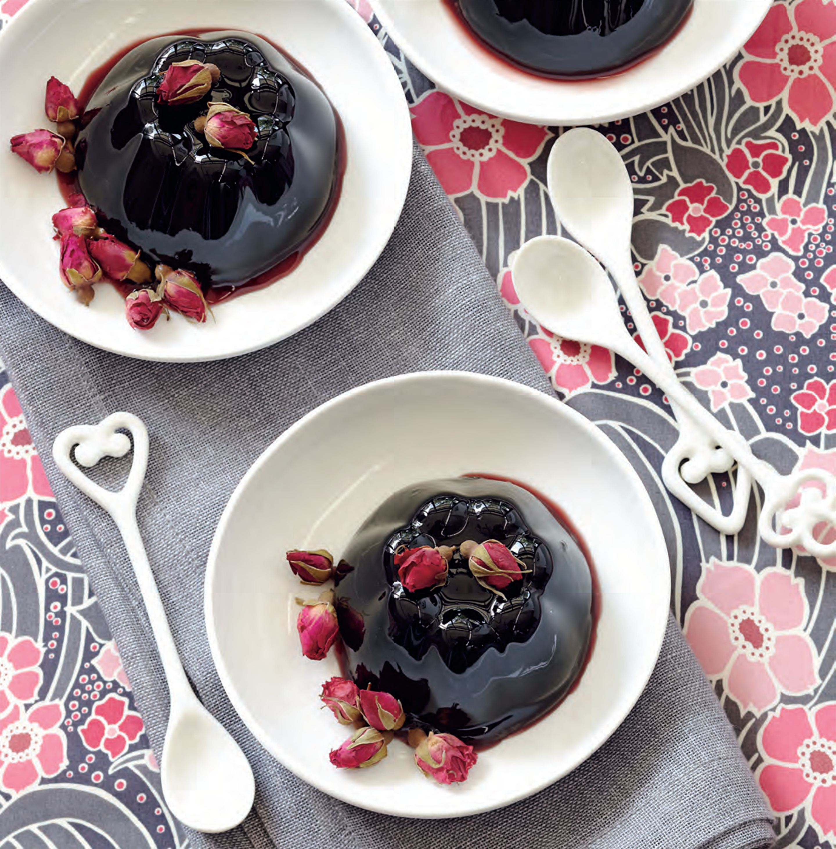 Black cherry and kirsch jellies