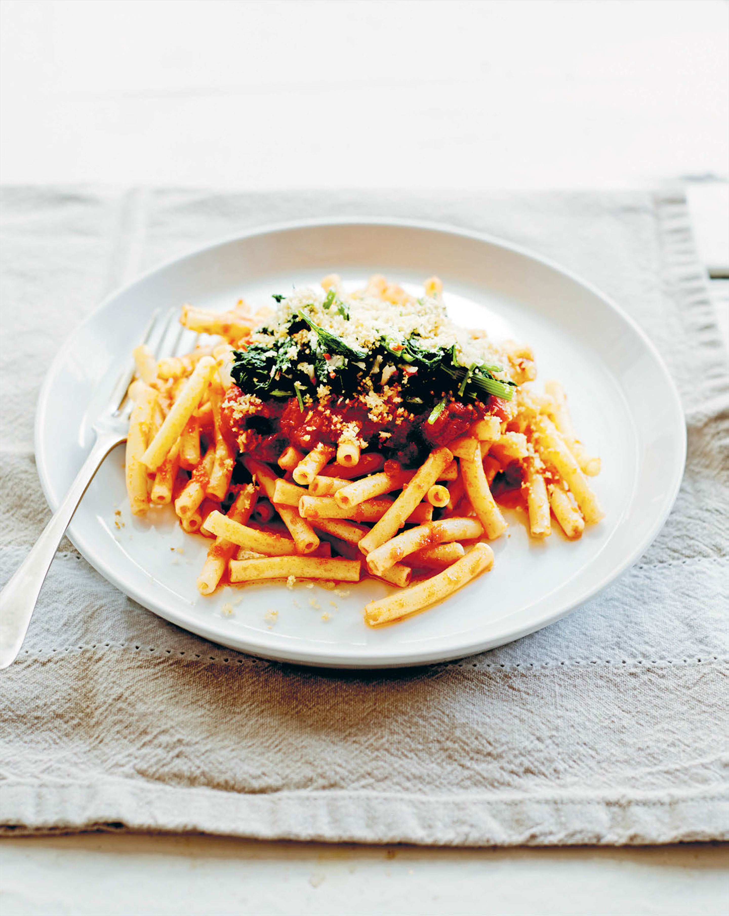Pasta finocchi with mollica