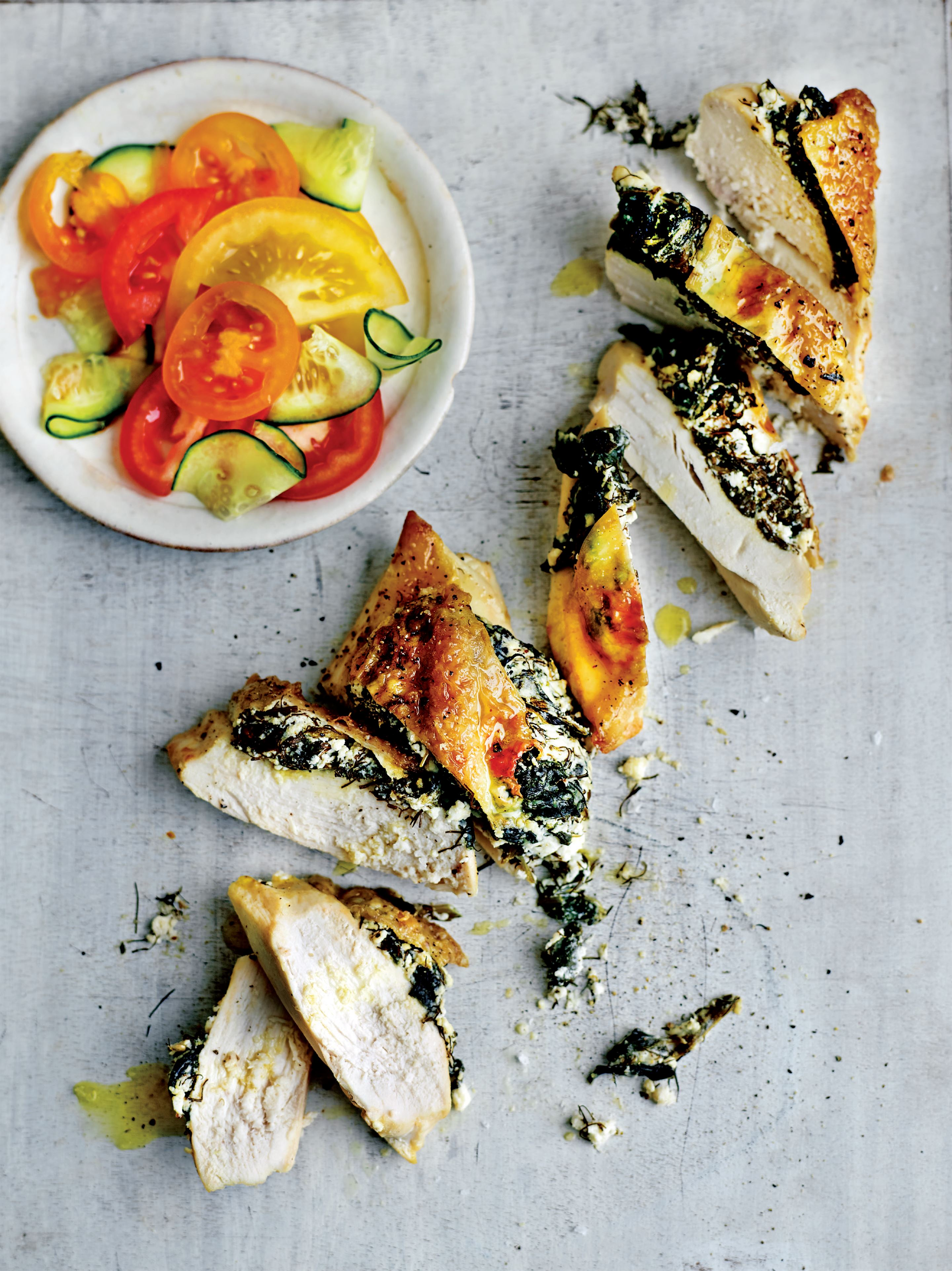 Chicken and feta calcium-booster
