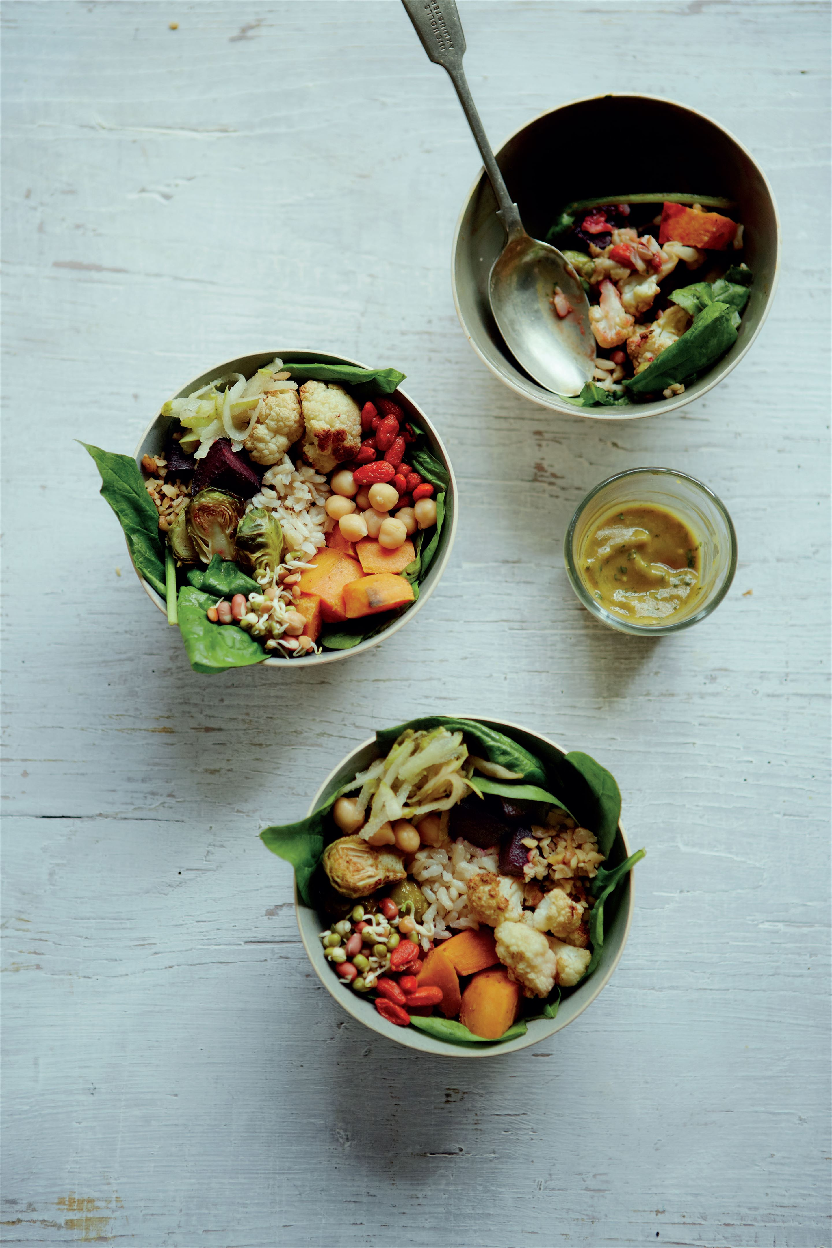 Double-sprout superfood bowls