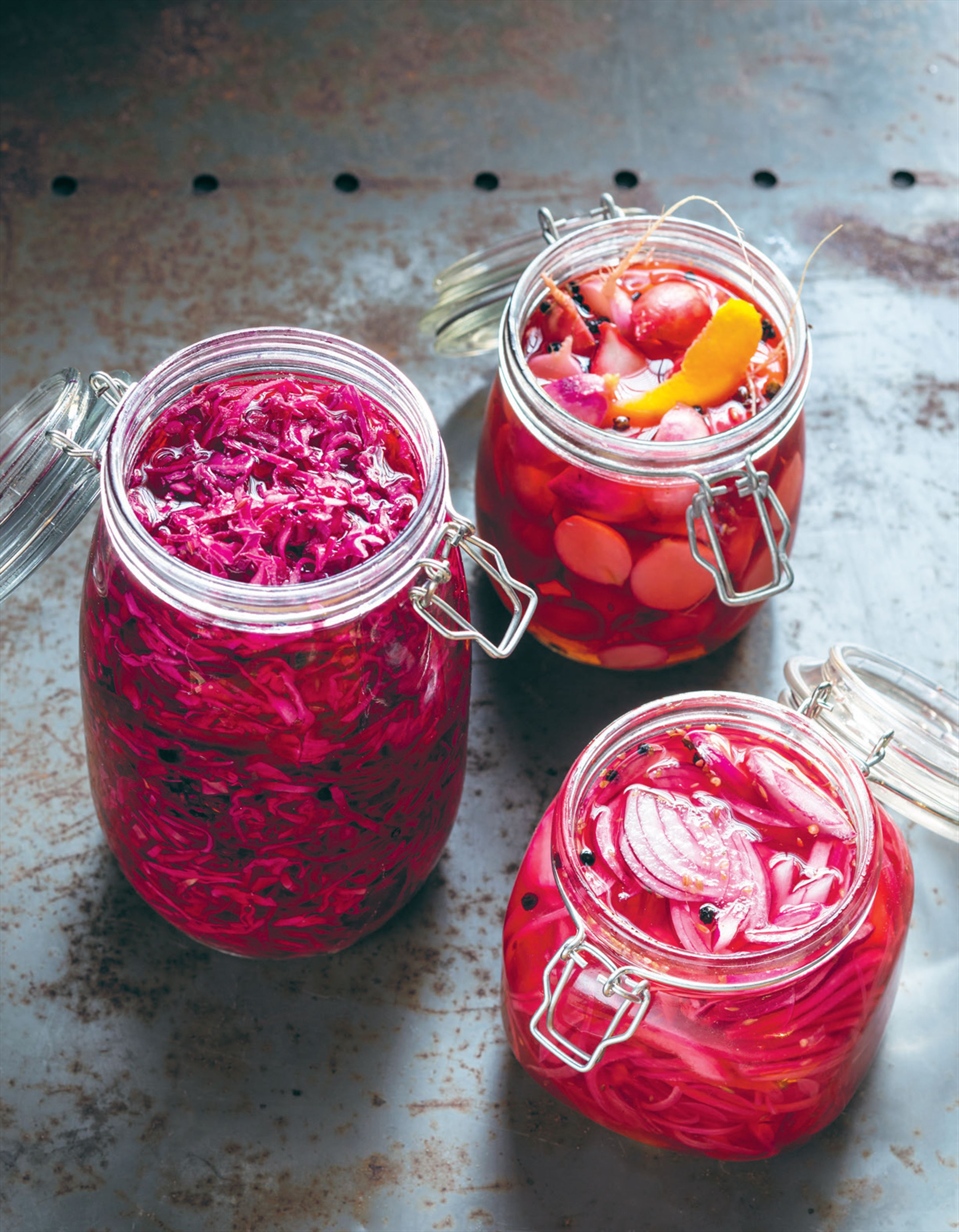 Pickled onions (& other stuff)