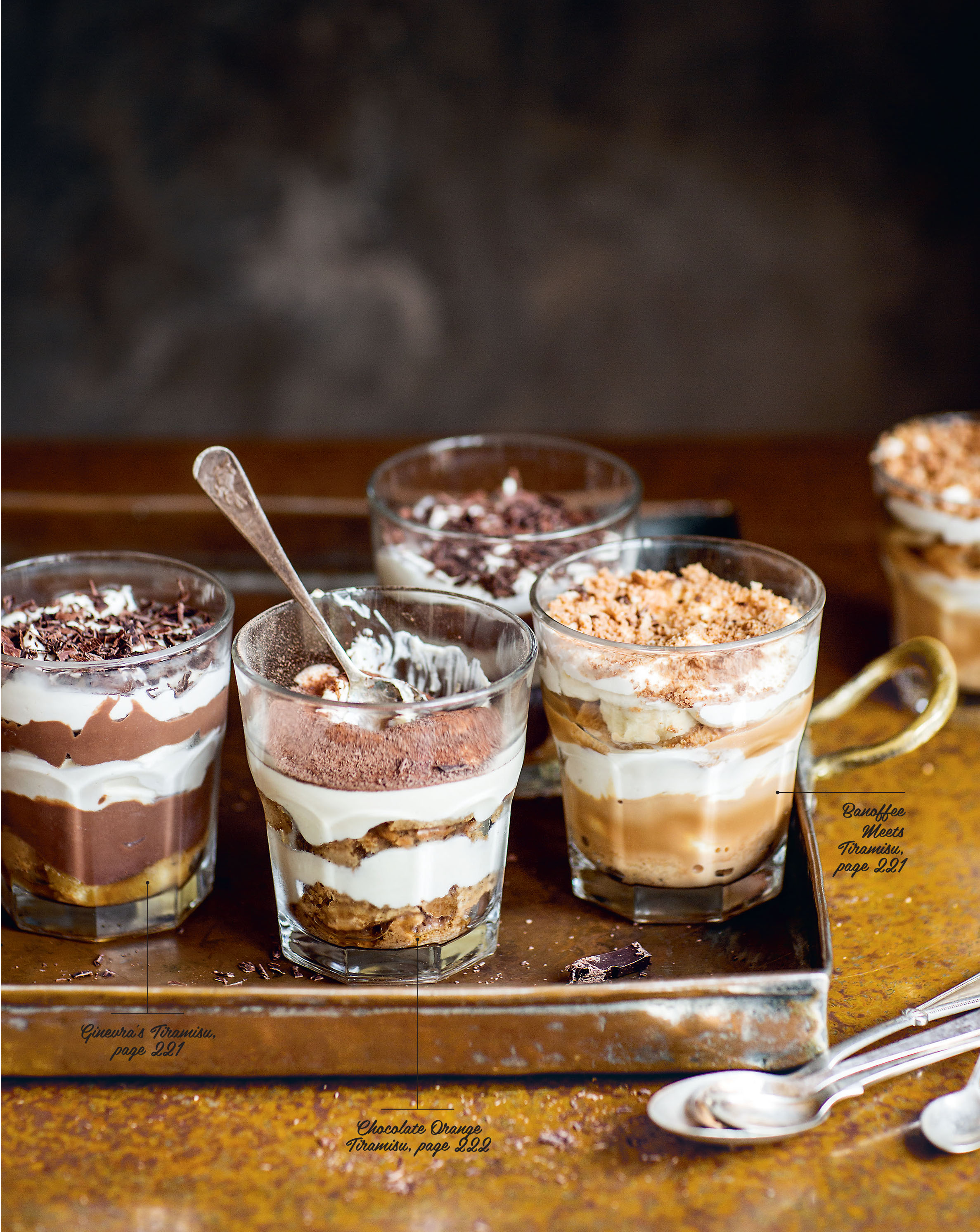 Tiramisu three ways