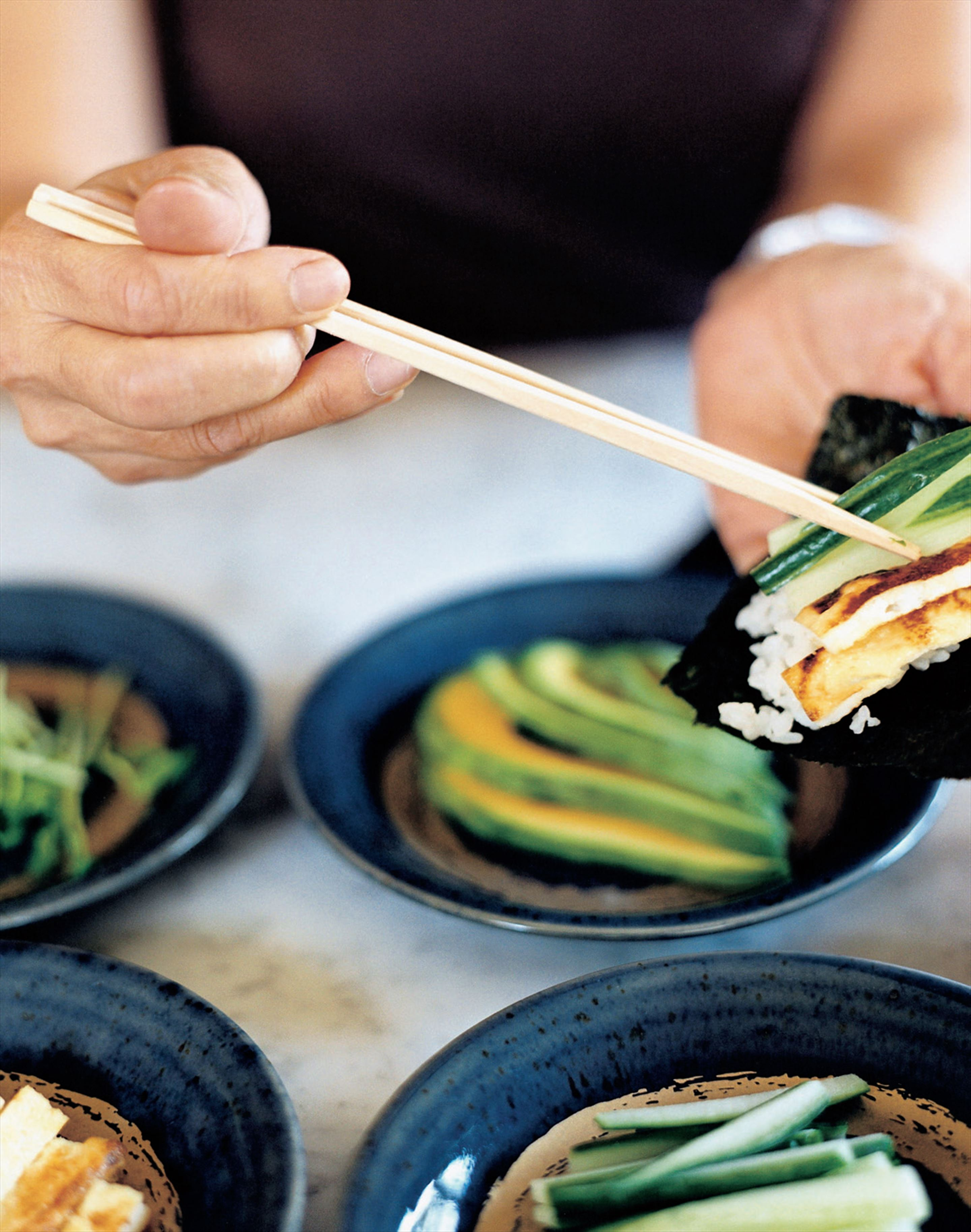 Roll-your-own sushi