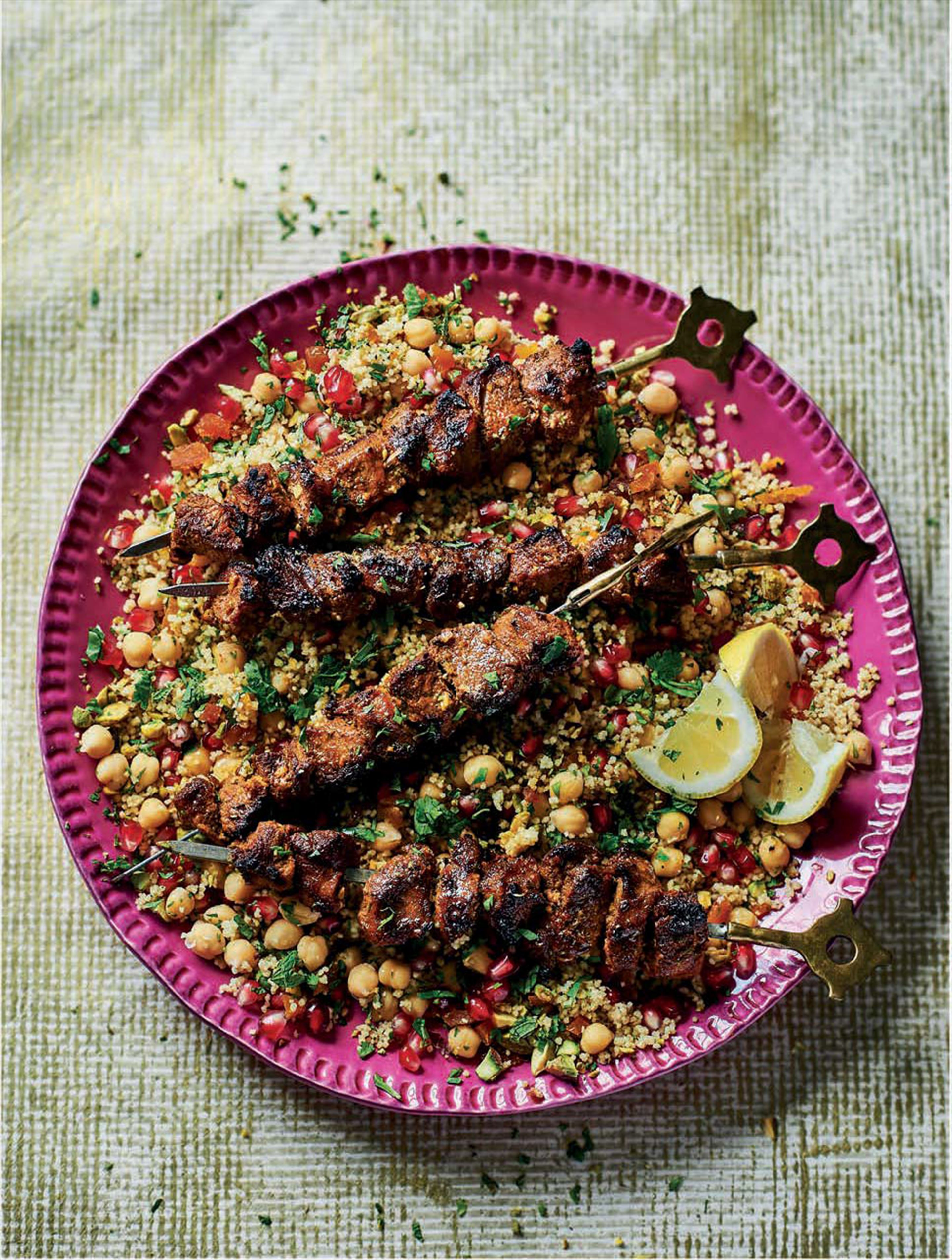 Moroccan spiced lamb
