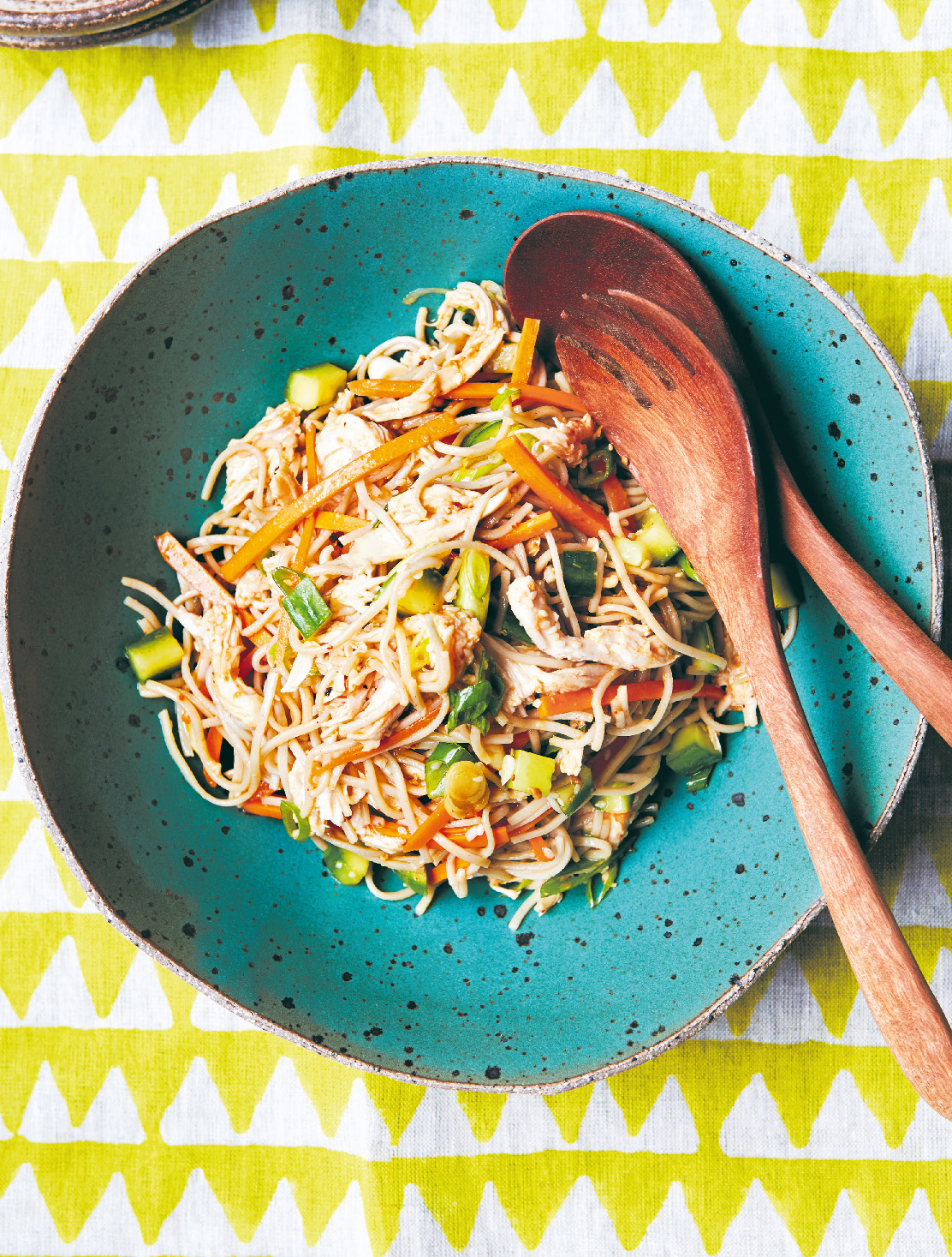 Chicken & miso noodle salad