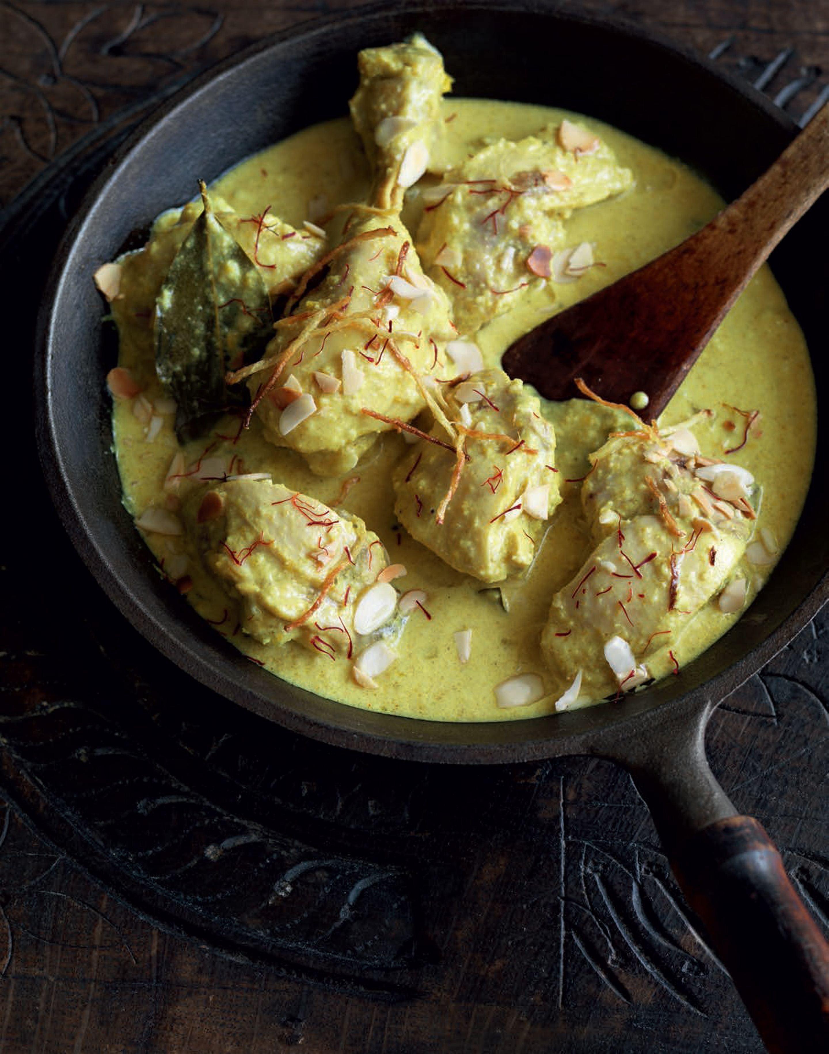 Golden chicken korma