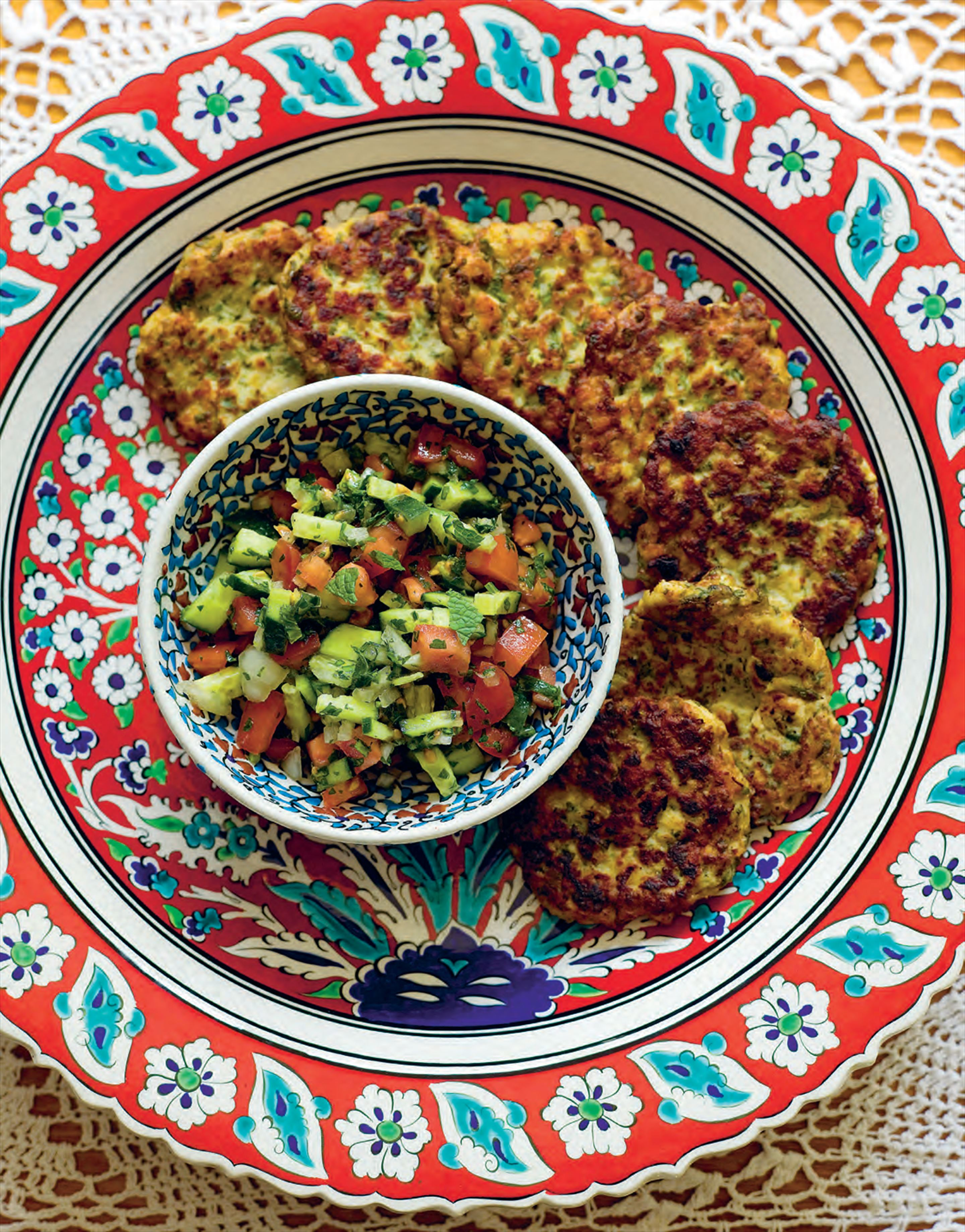 Sephardic chicken patties