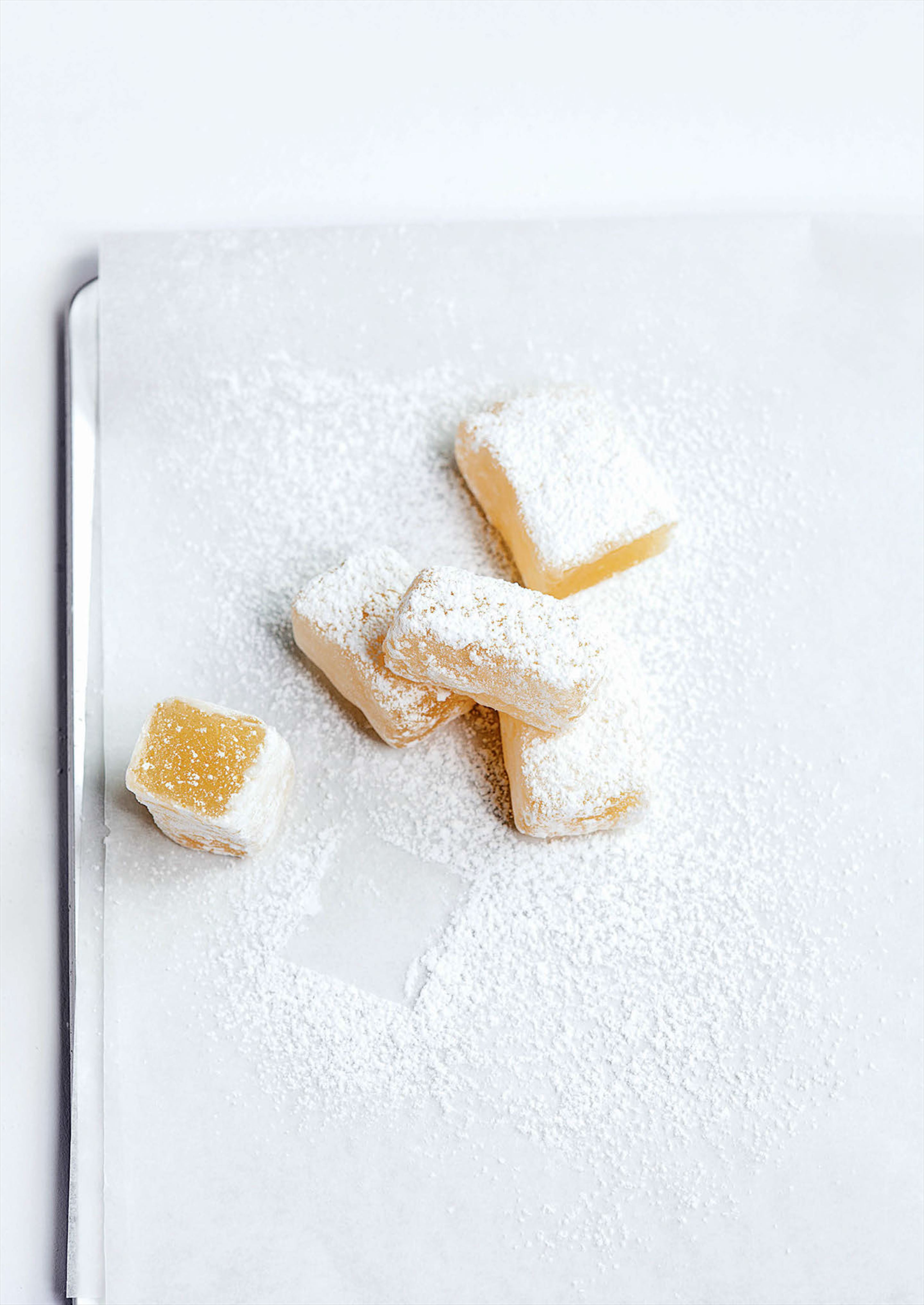 Basic lemon Turkish delight