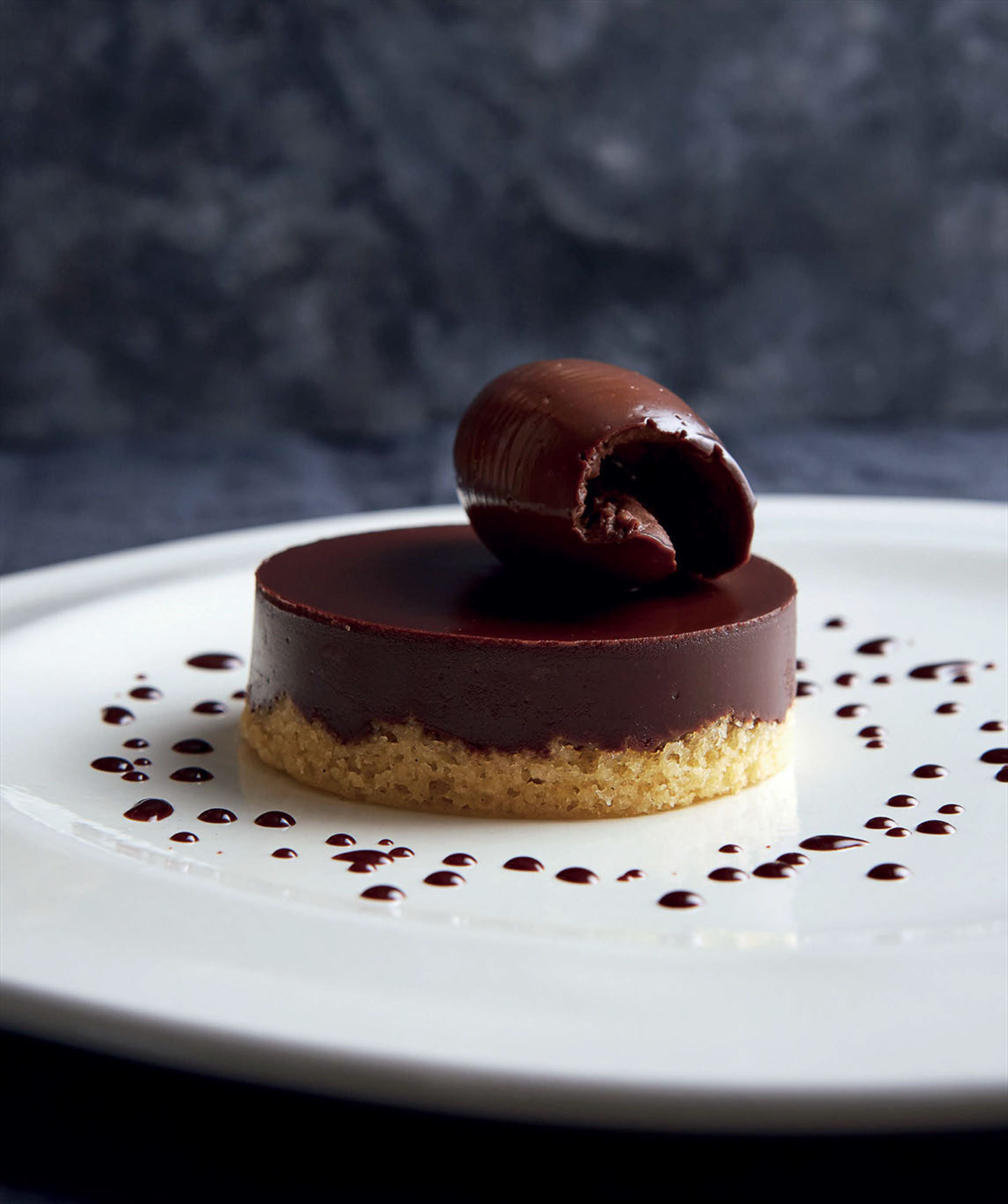 Chocolate and whisky torte