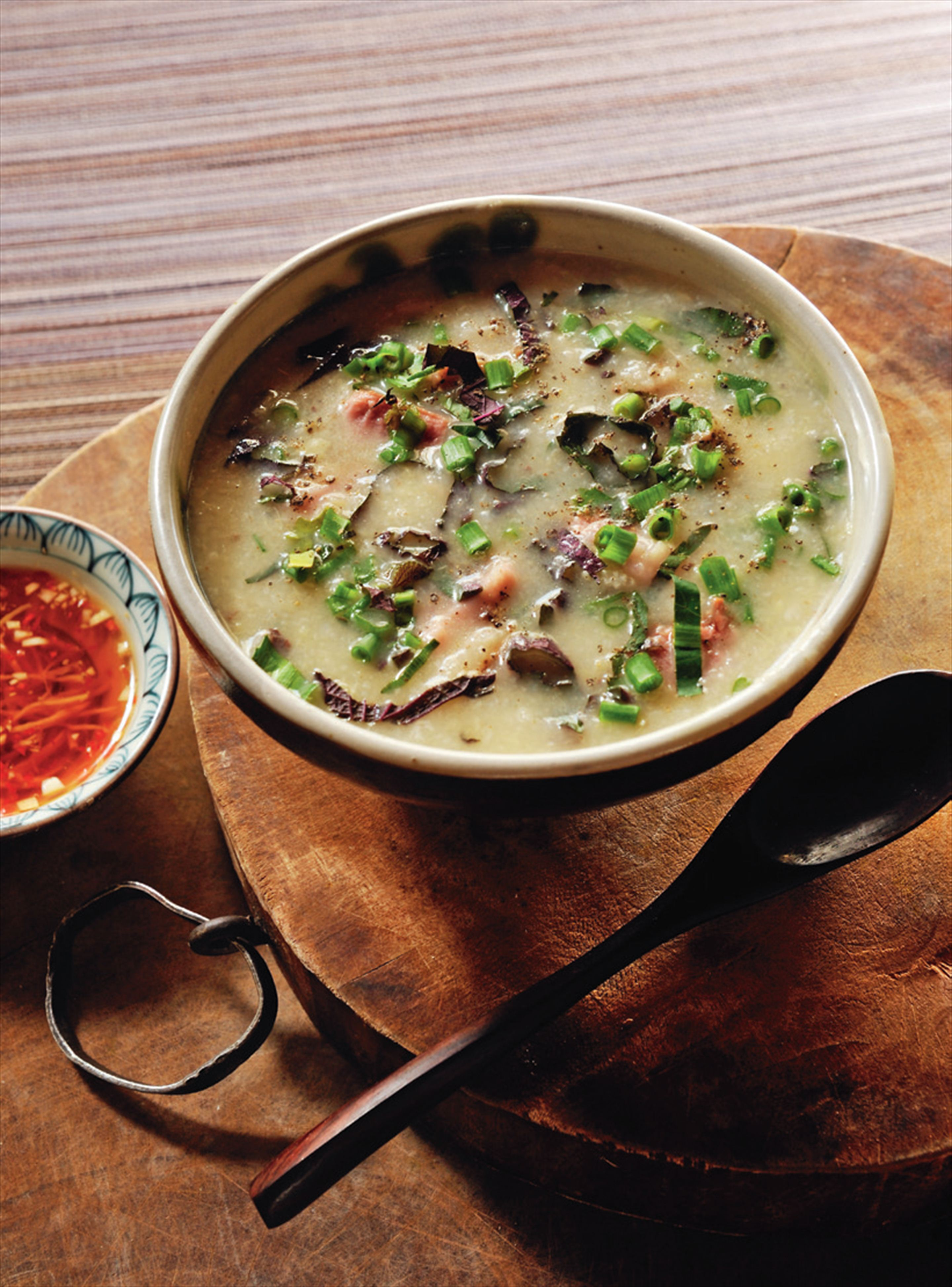Duck rice porridge
