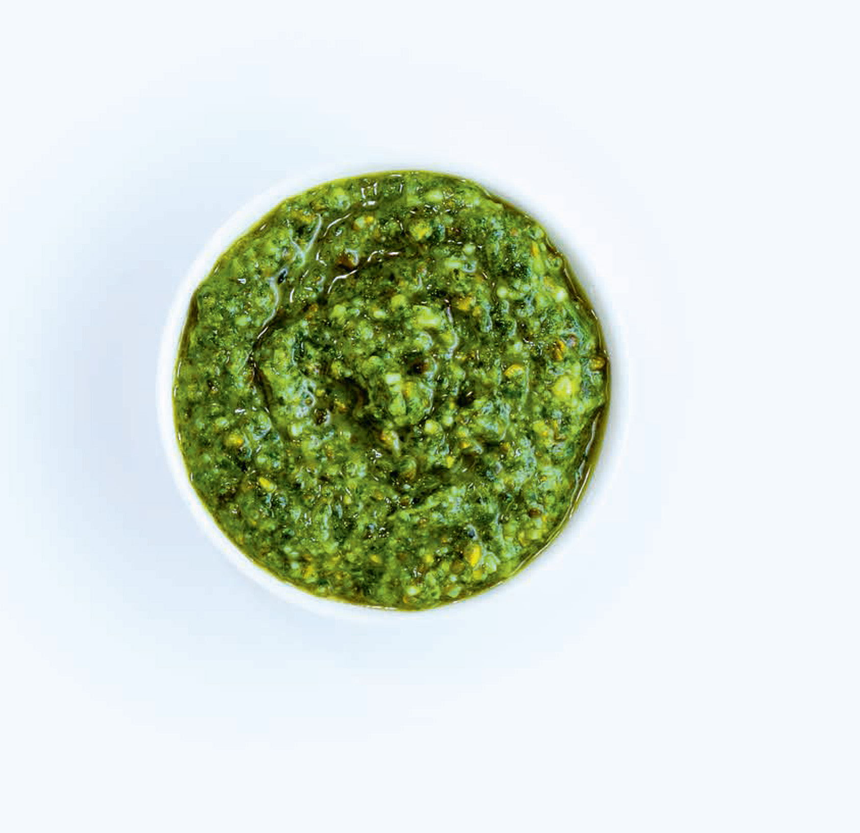 Rocket and pistachio pesto