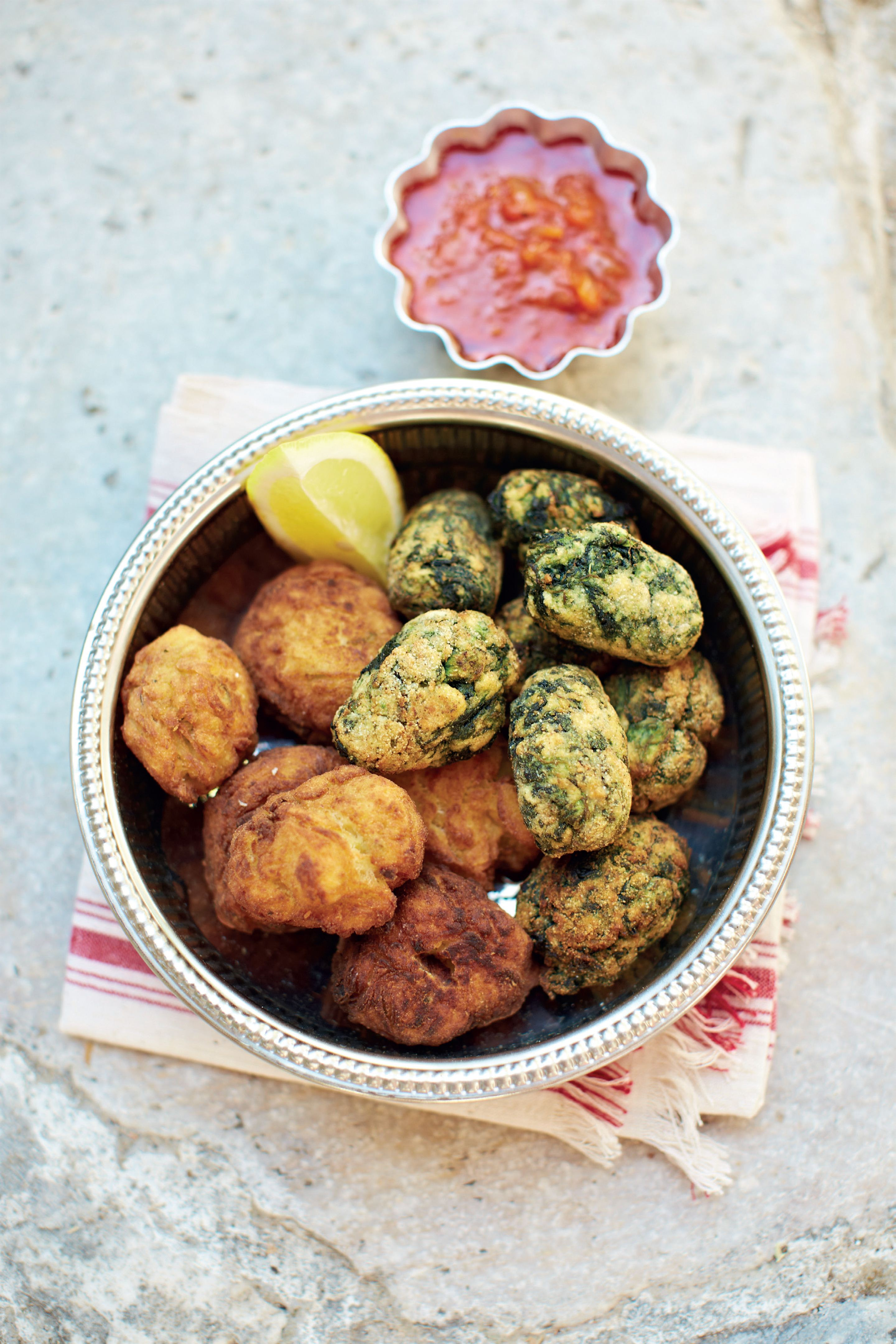 Chickpea fritters