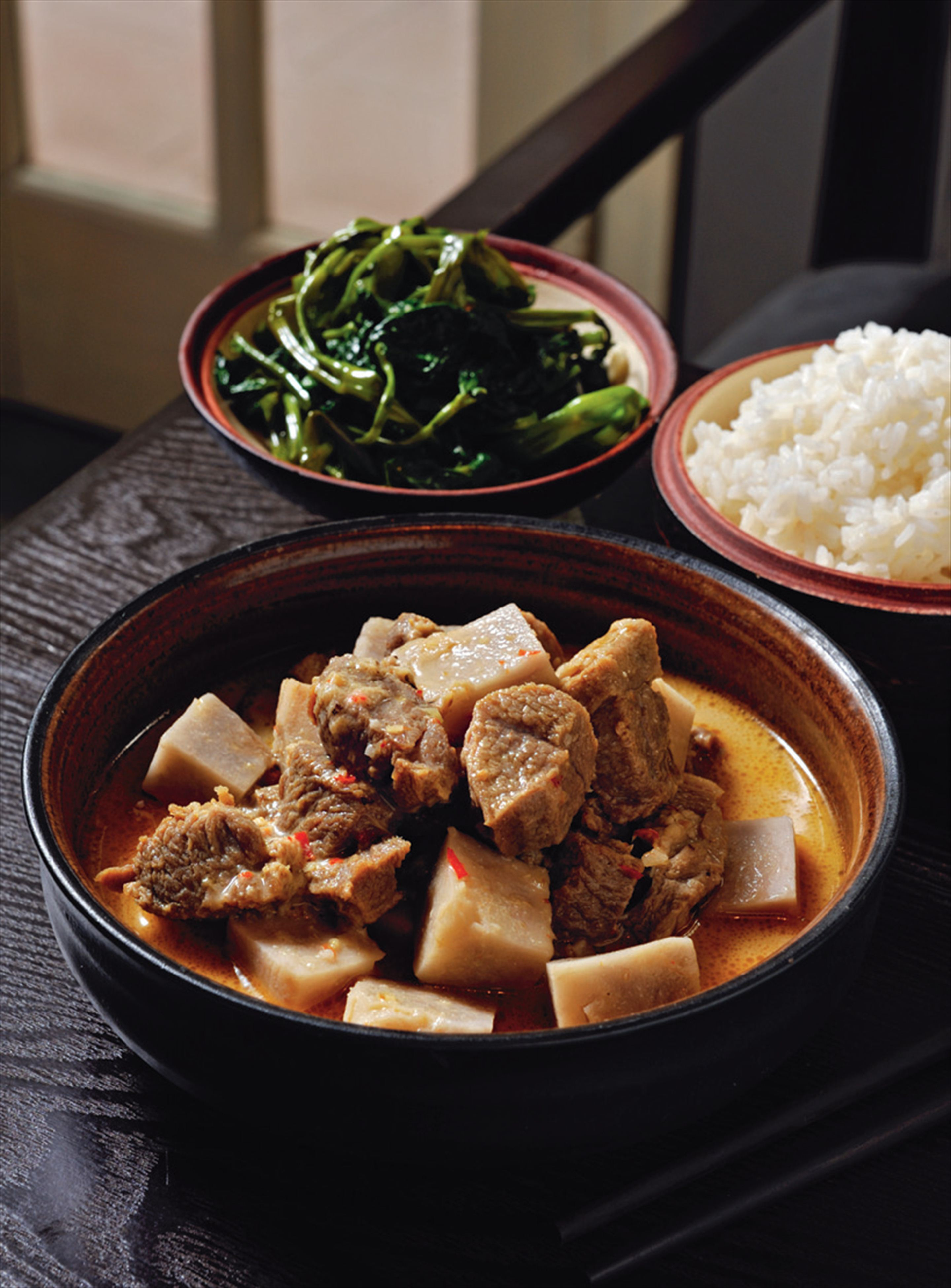 Braised goat with fermented tofu