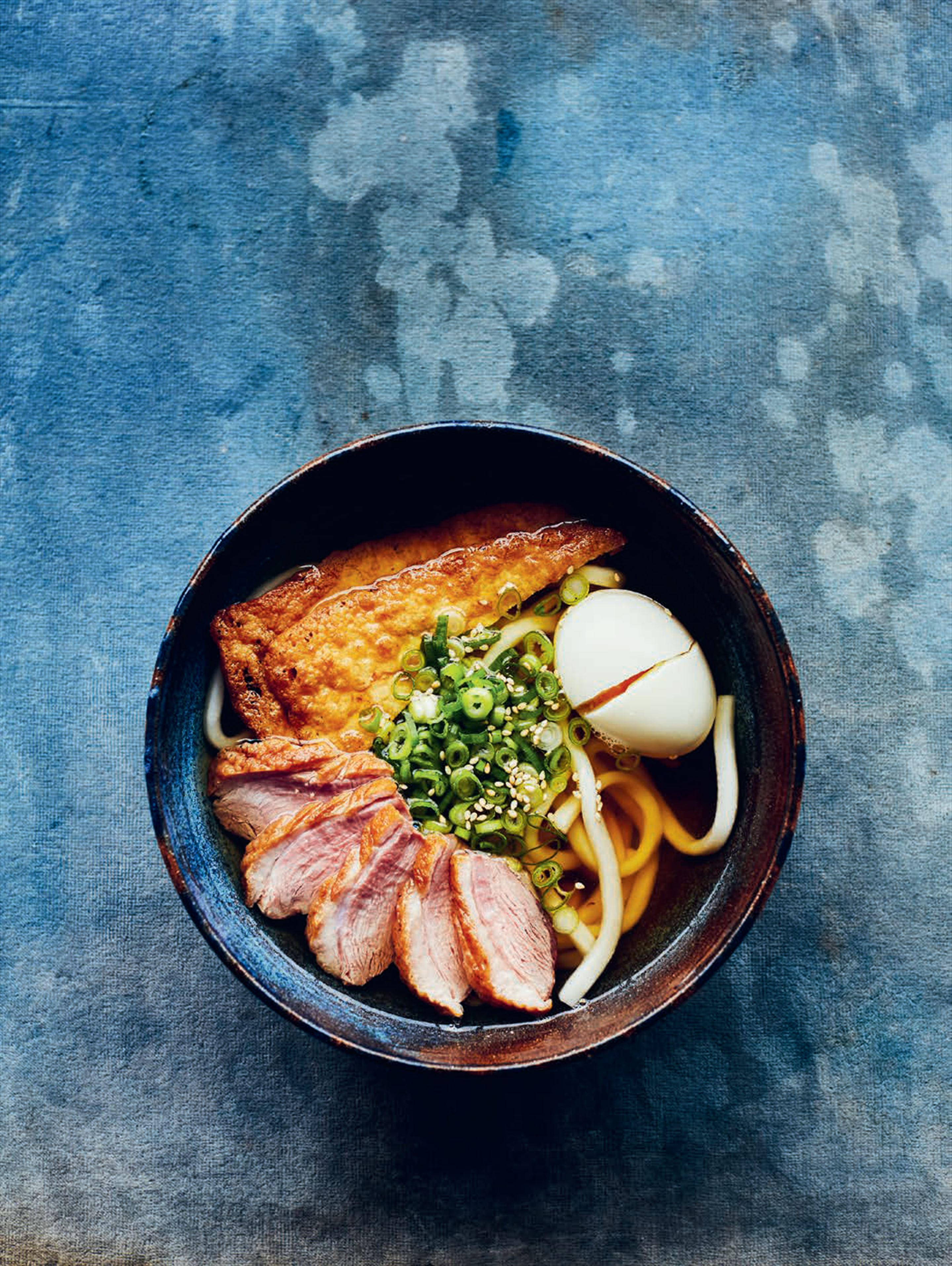 Pan-roasted duck breast