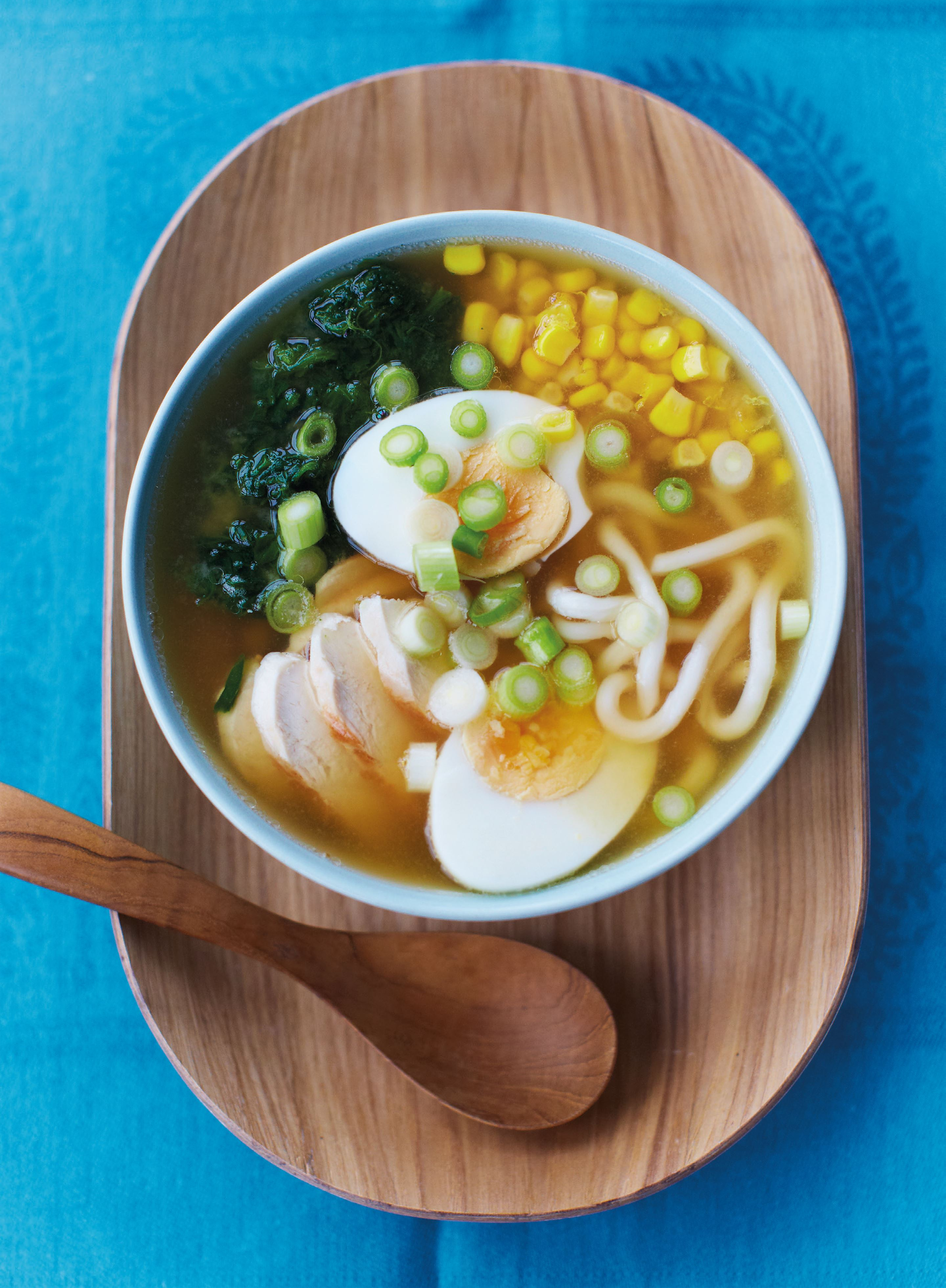 TV dinner miso chicken ramen
