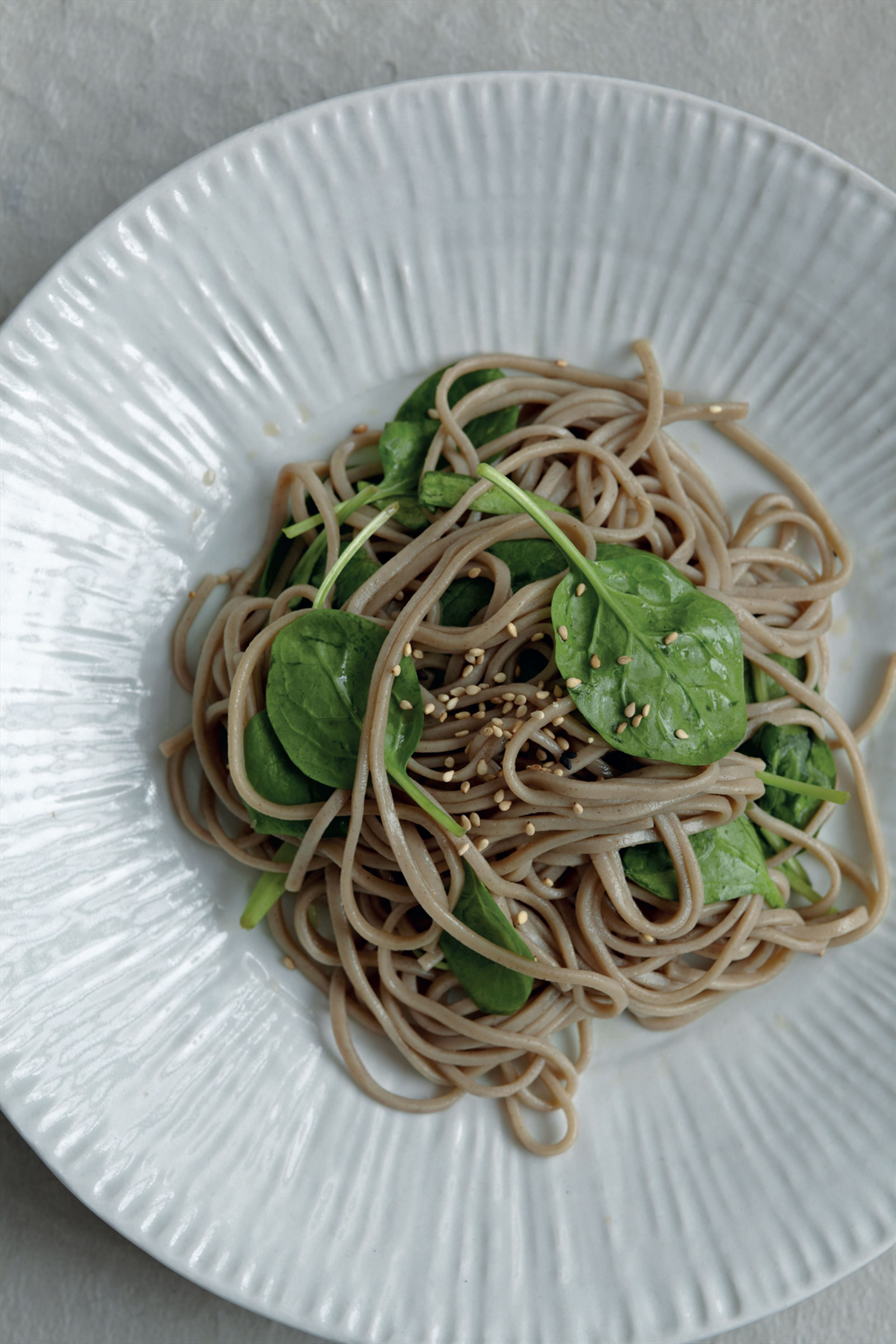 Fill-you-up soba noodle salad