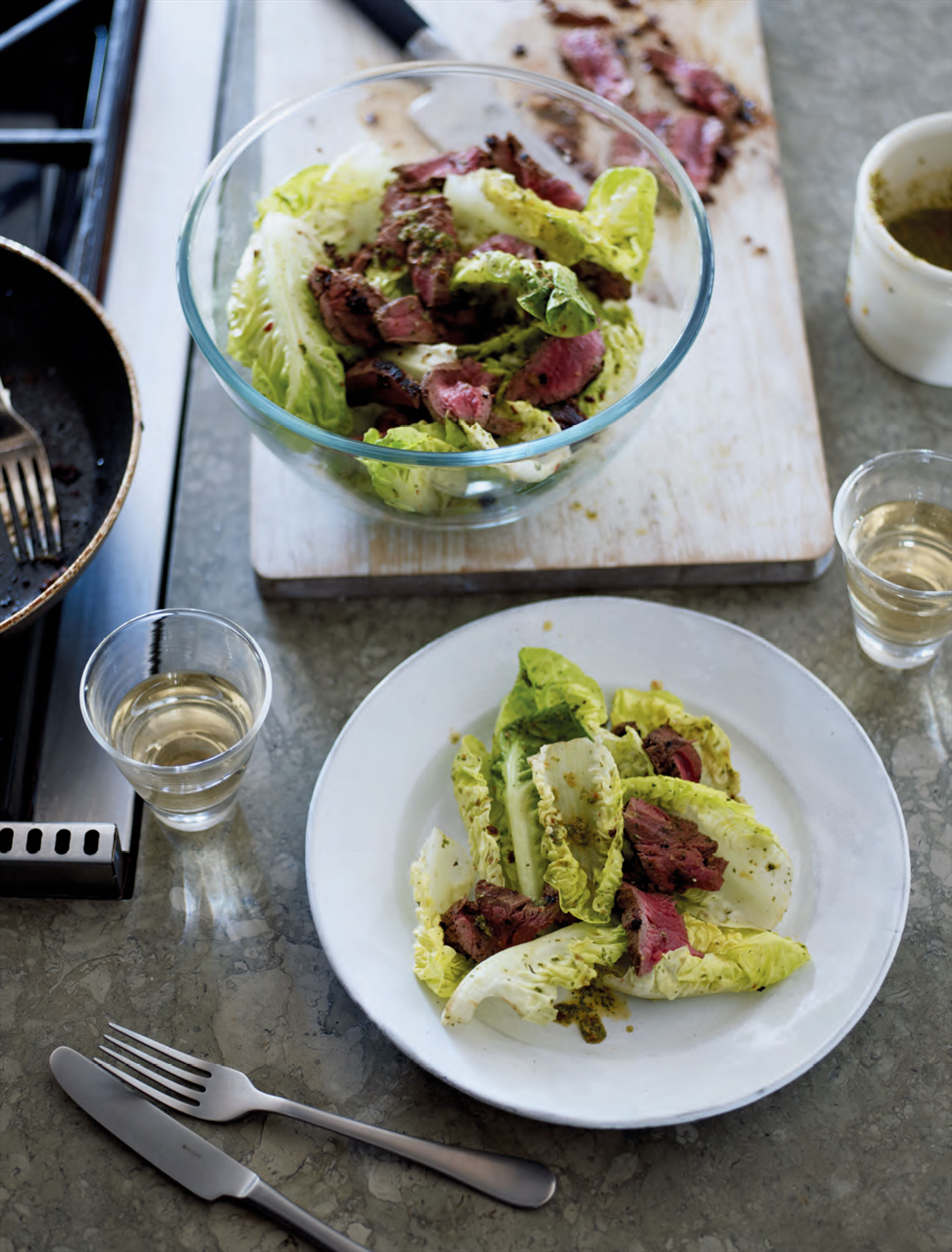 Warm thai beef salad with chilli, lime & palm sugar