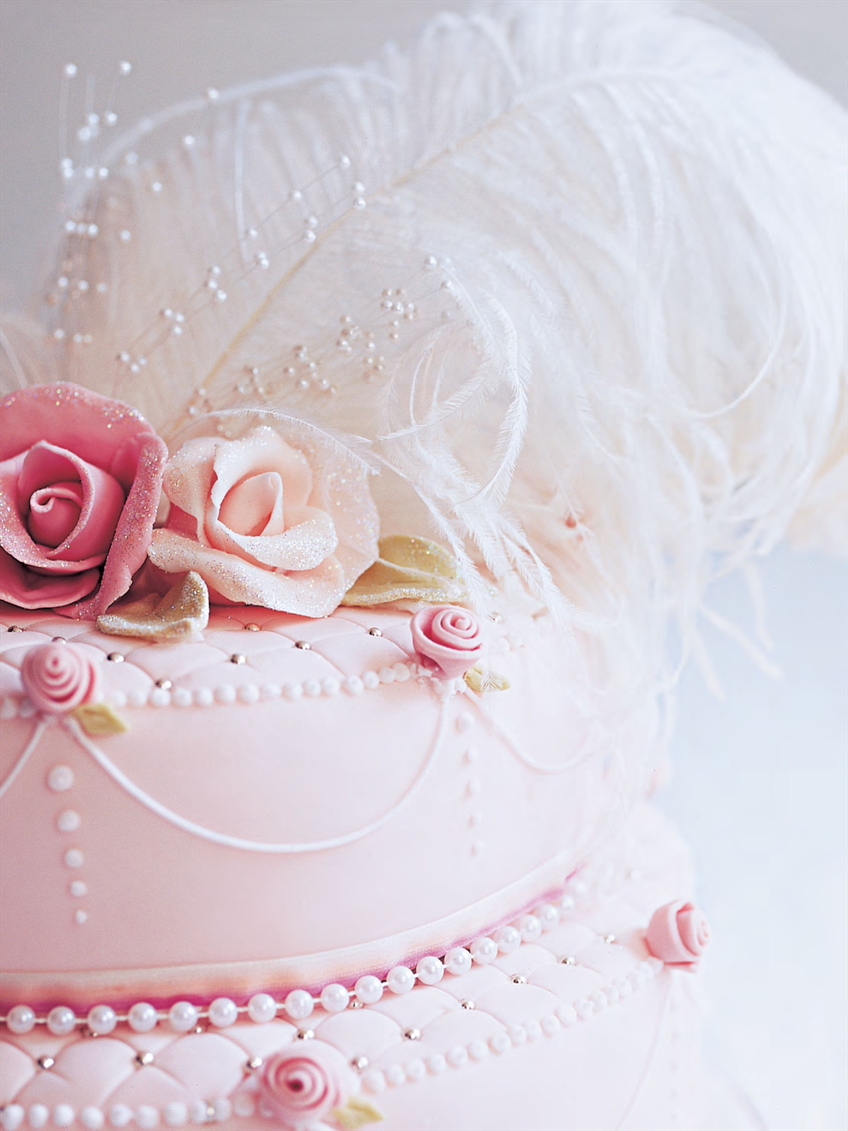 Tiered Marie Antoinette's cake