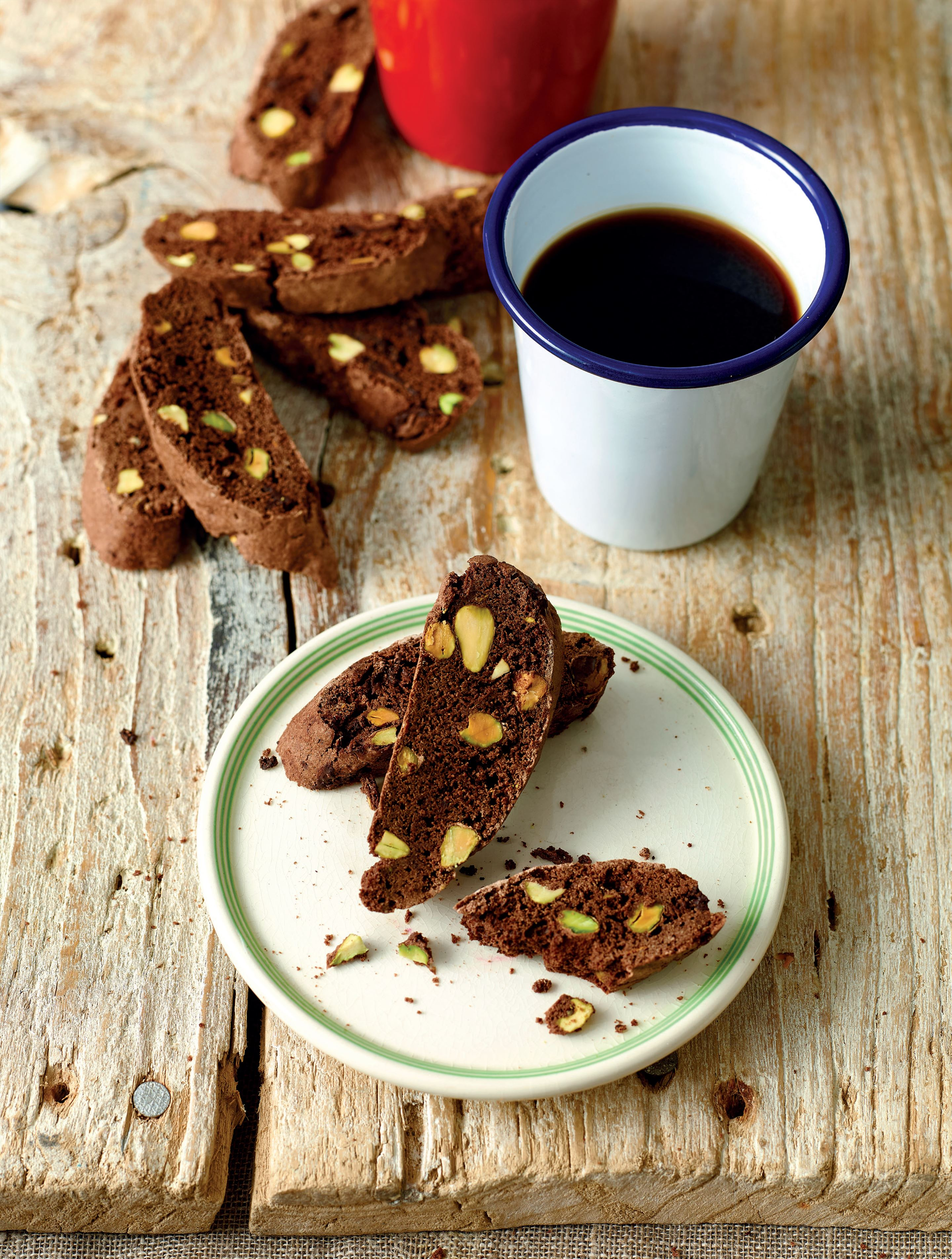 Chocolate orange biscotti dunkers