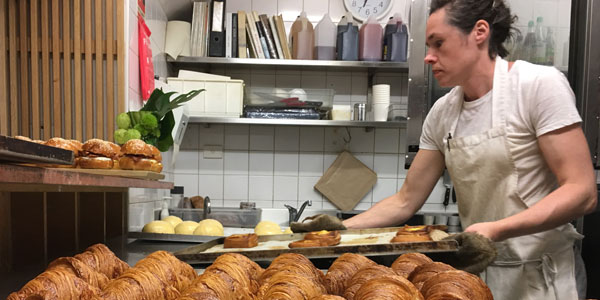 Croissants and Danishes at Tivoli Road Bakery
