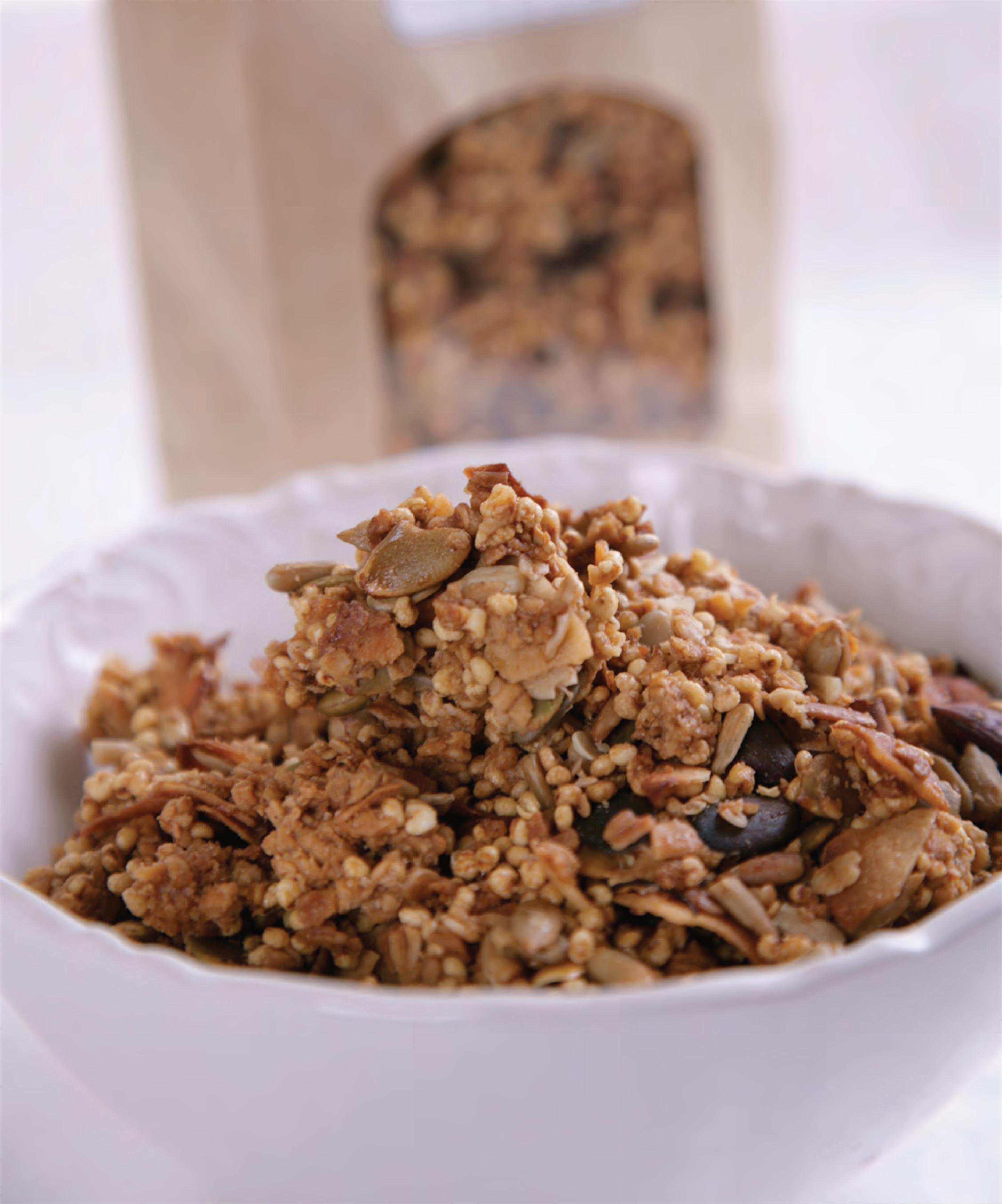 Natalie's maple granola