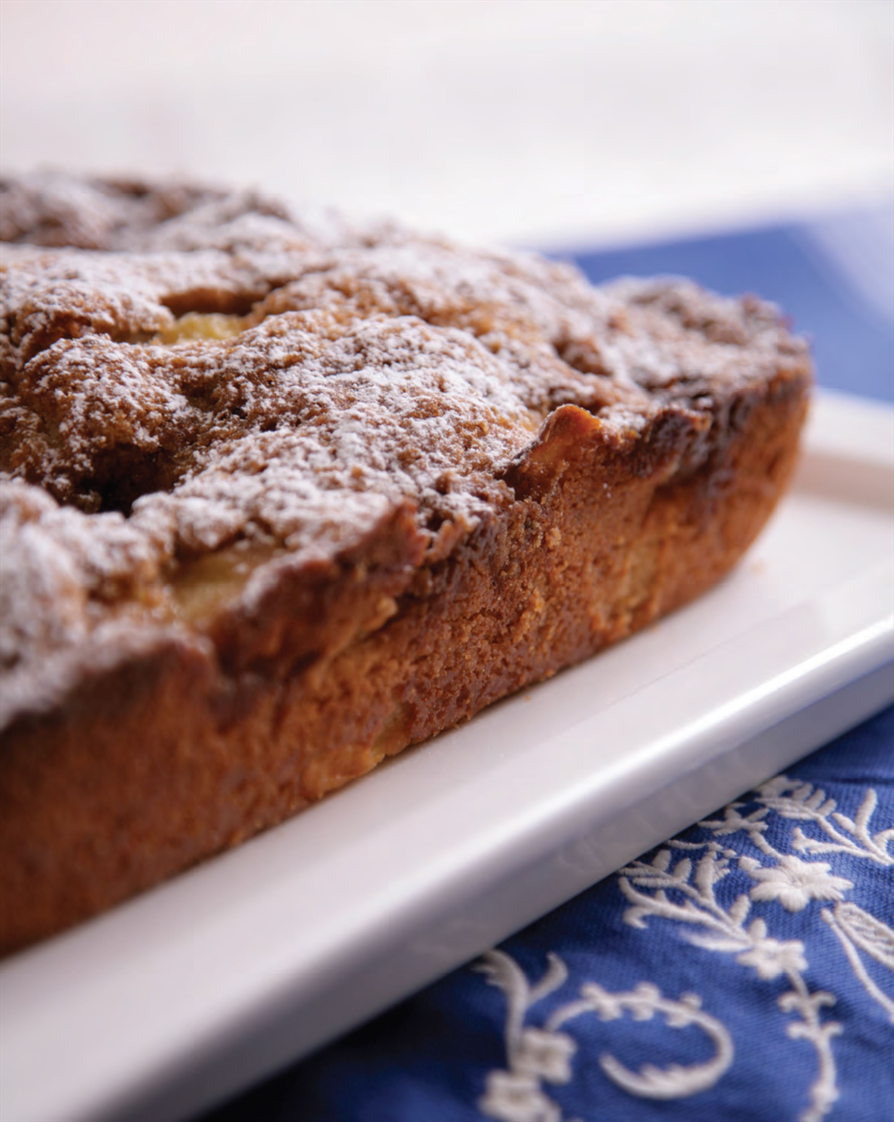 Heather's crunchy topped apple cake