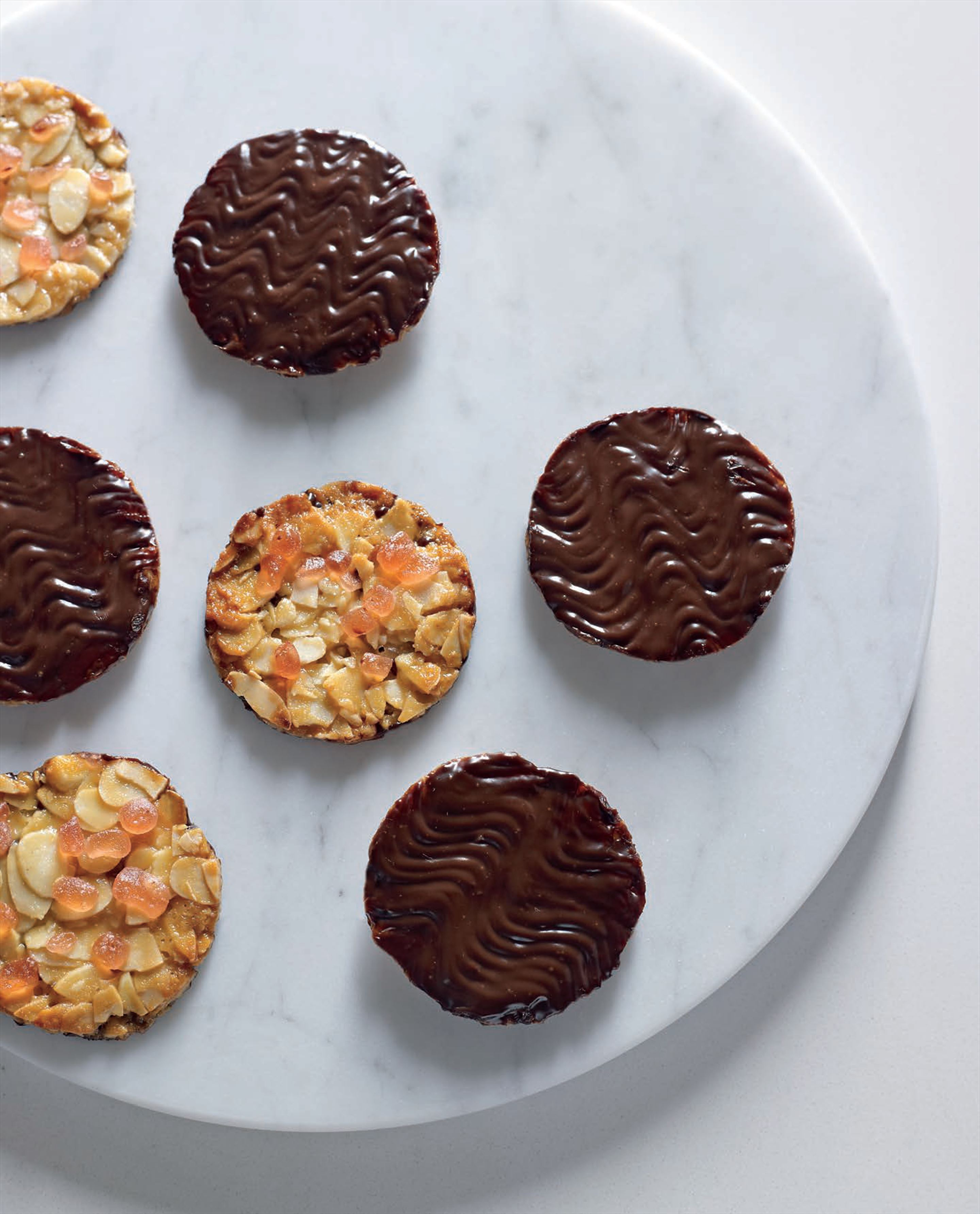 Turkish delight florentines