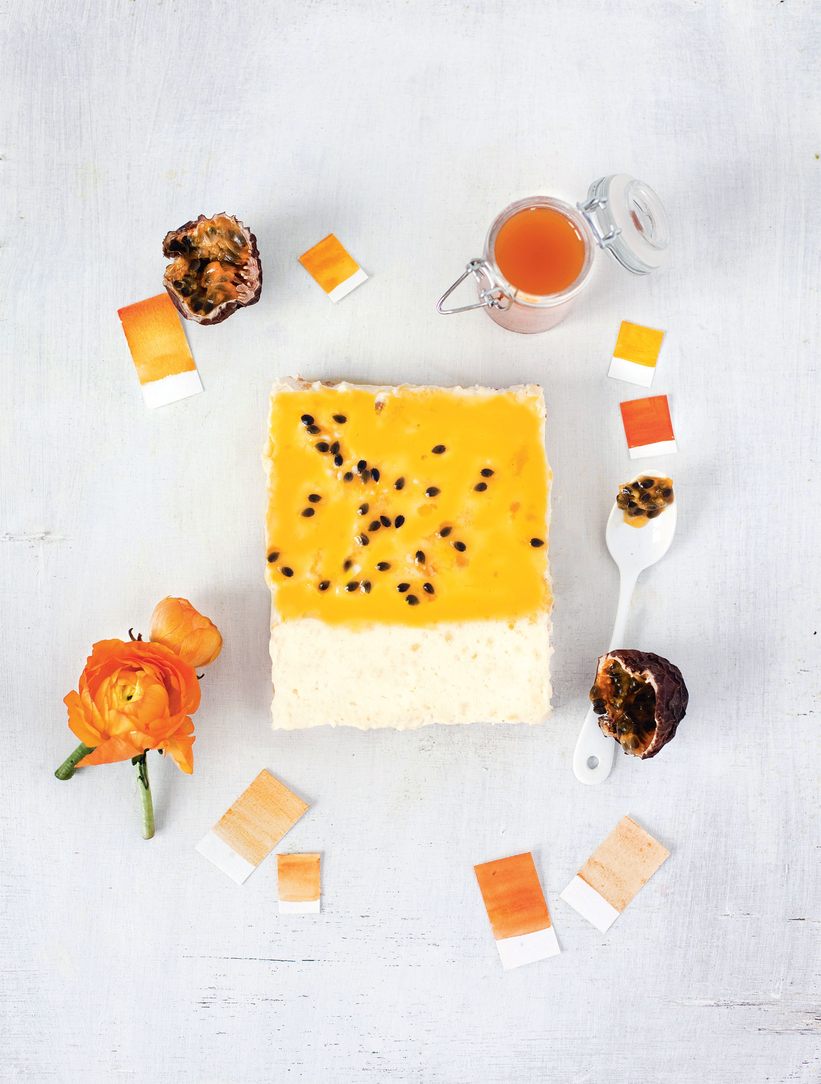 Passionfruit – cheesecake
