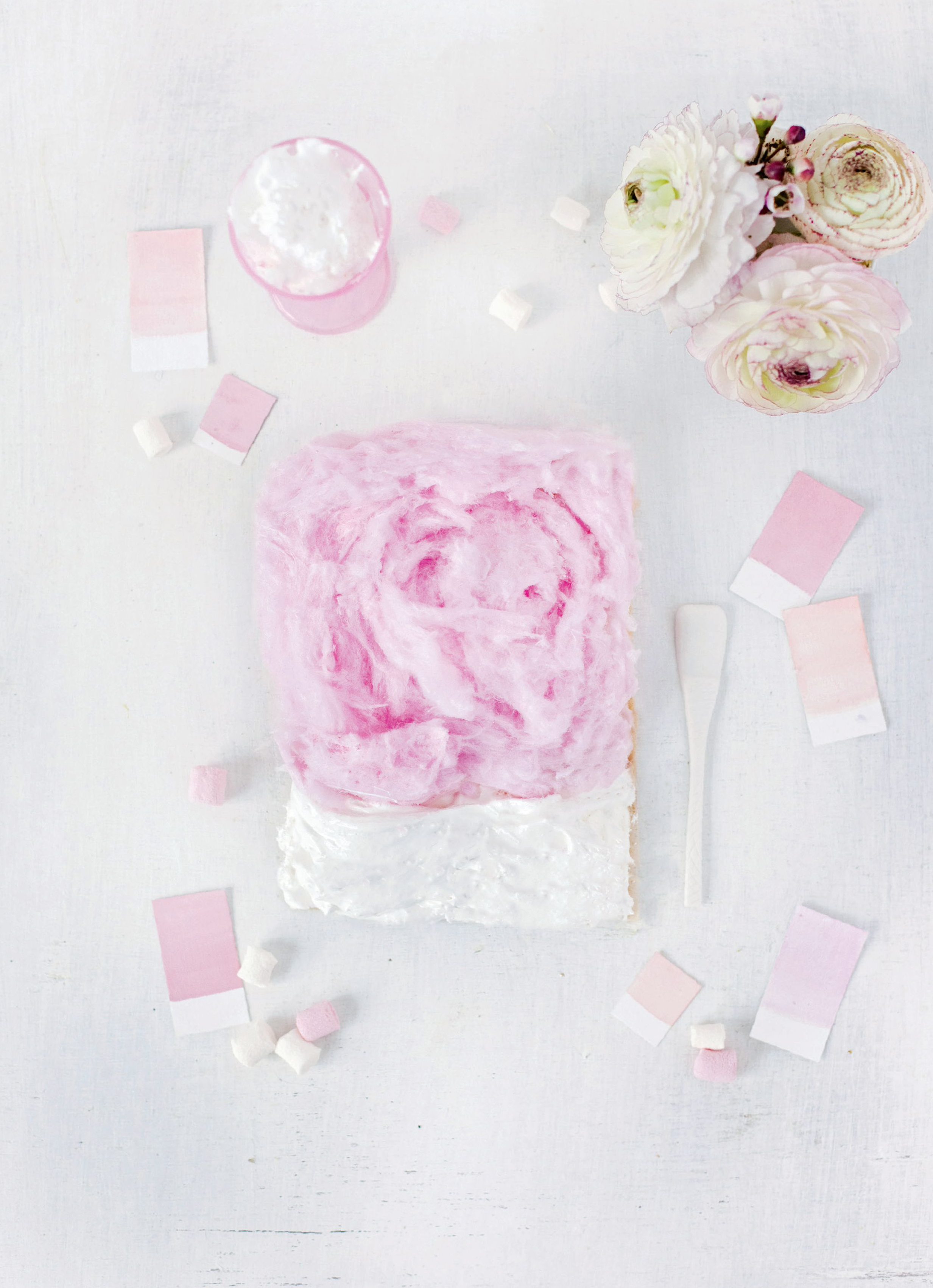 Cotton candy – marshmallow