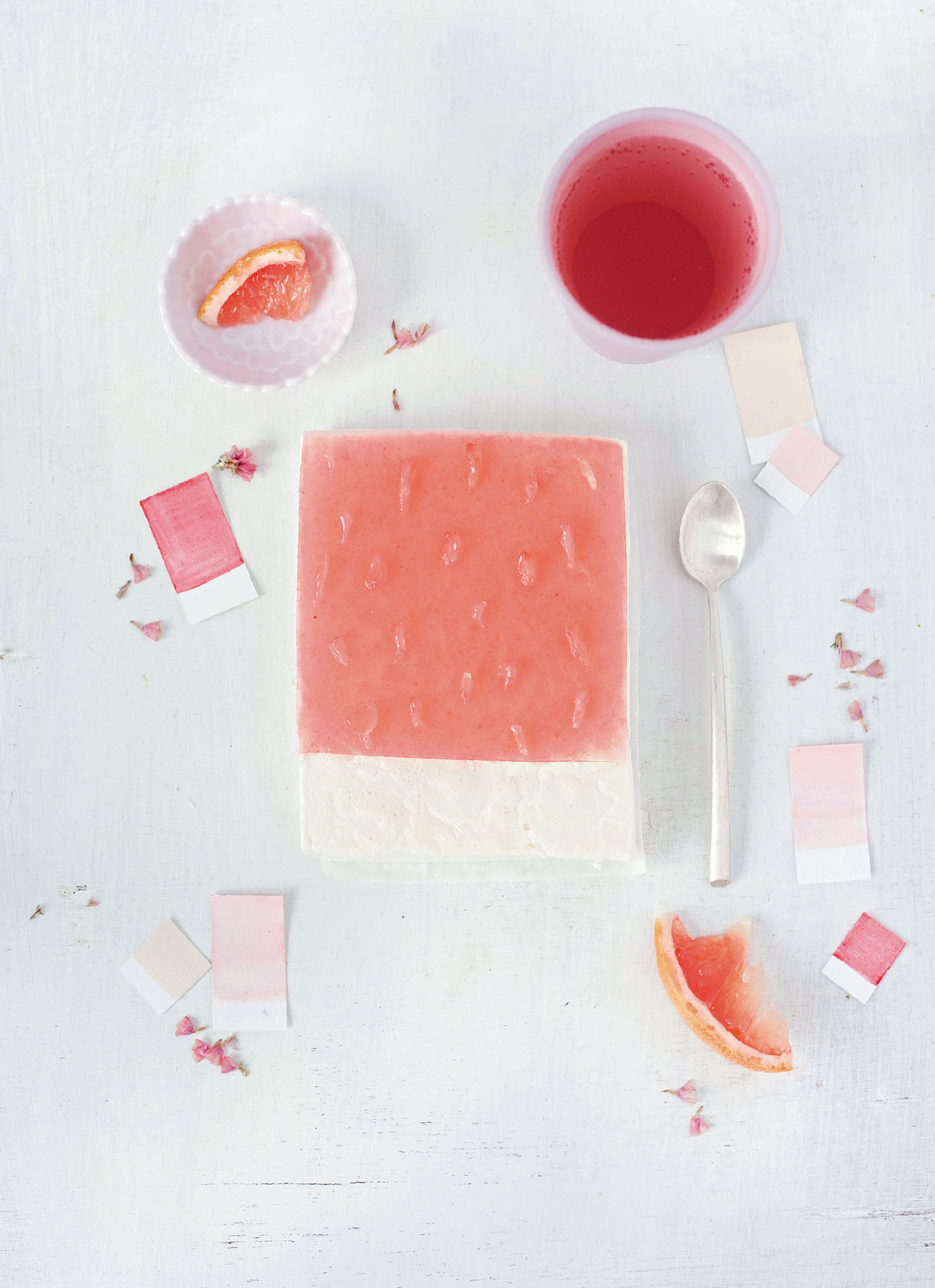 Grapefruit – panna cotta