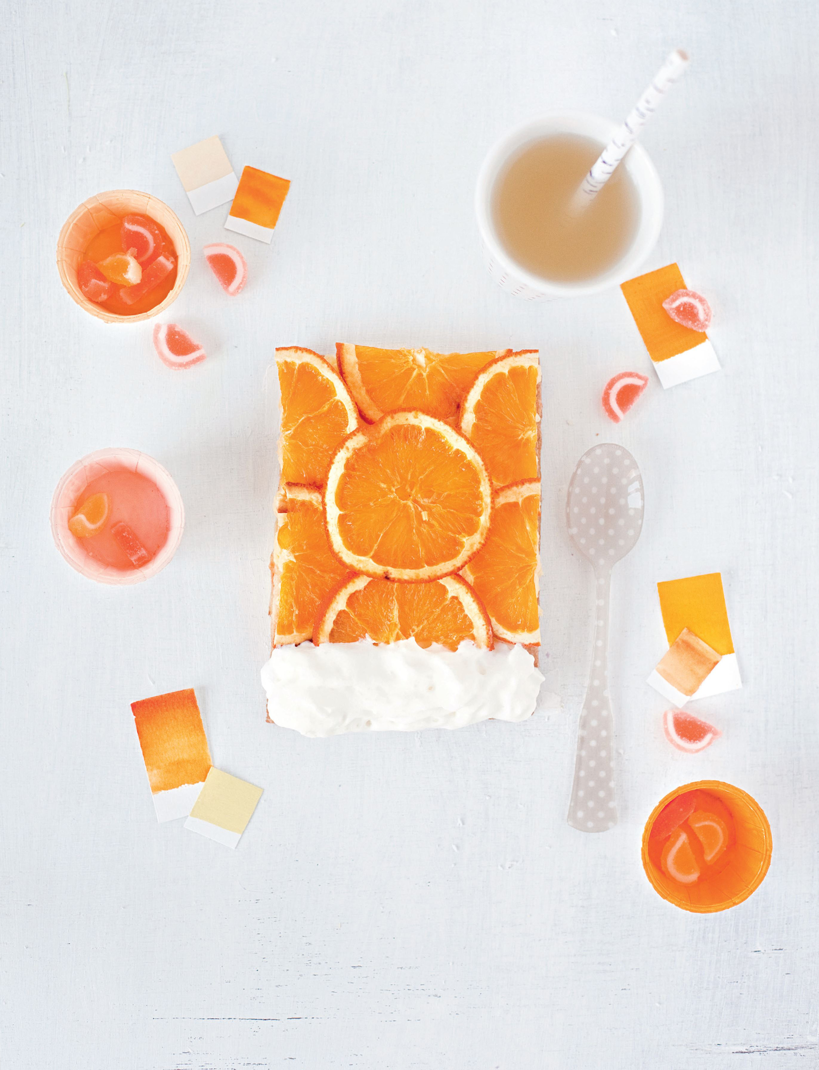 Orange – chantilly