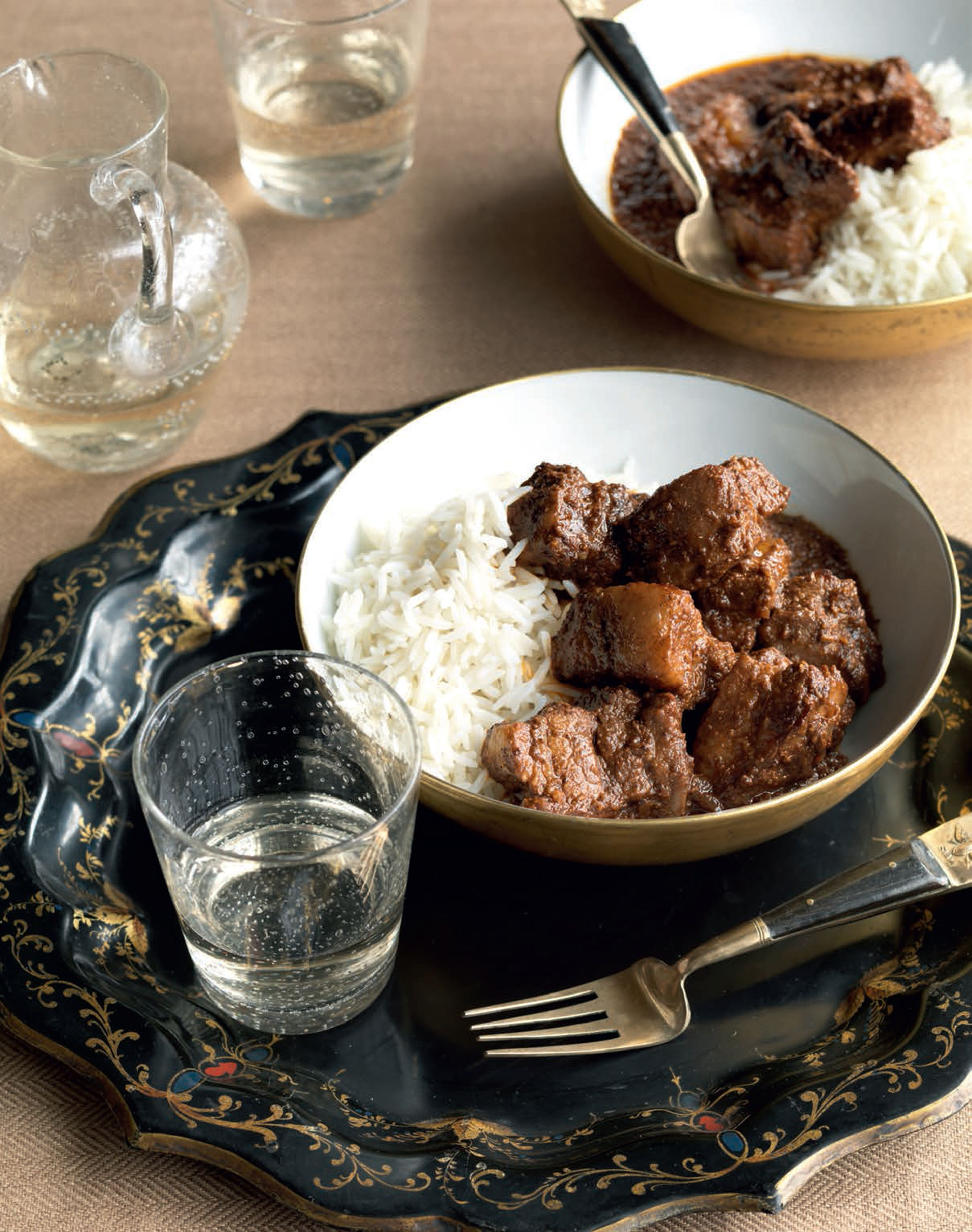 Authentic pork vindaloo