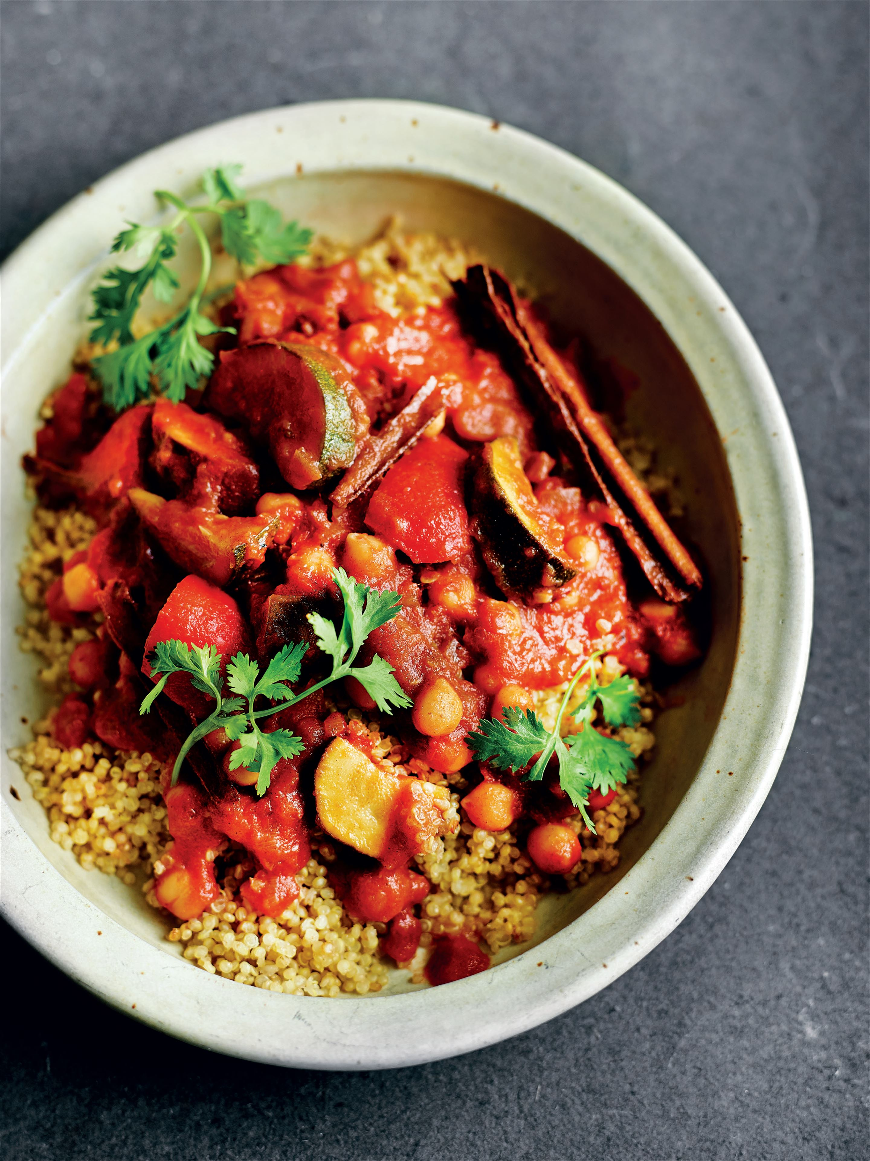 One-pot Moroccan vegetable tagine