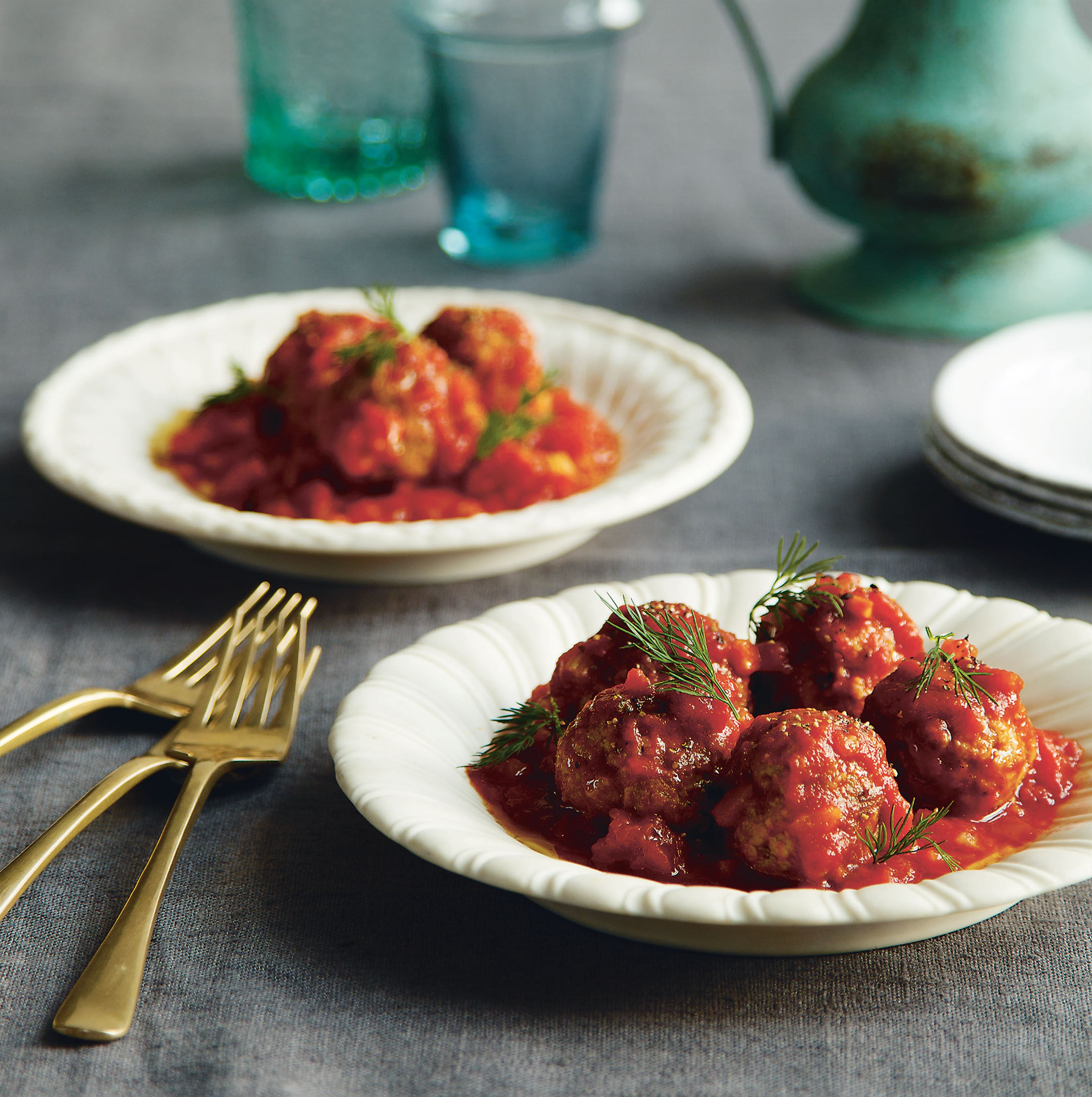 Pork and fennel polpette
