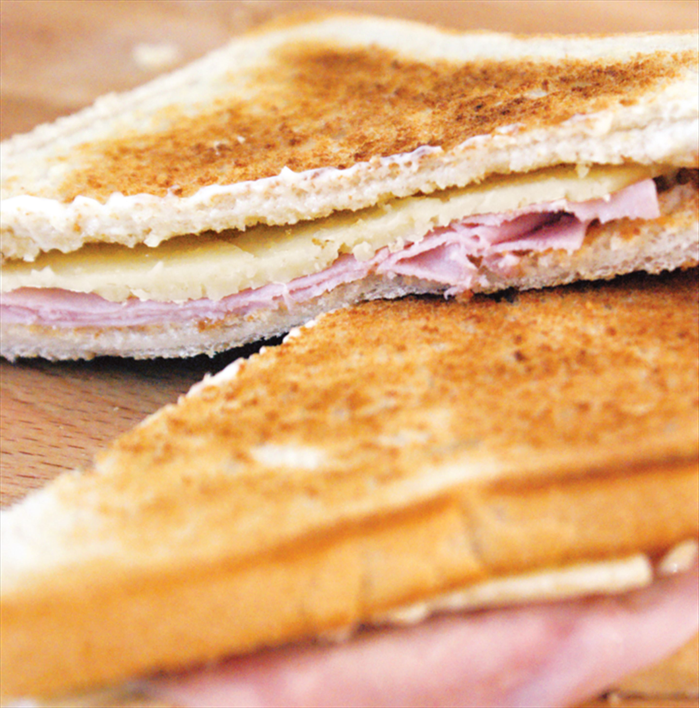 Ham and cheese toasty