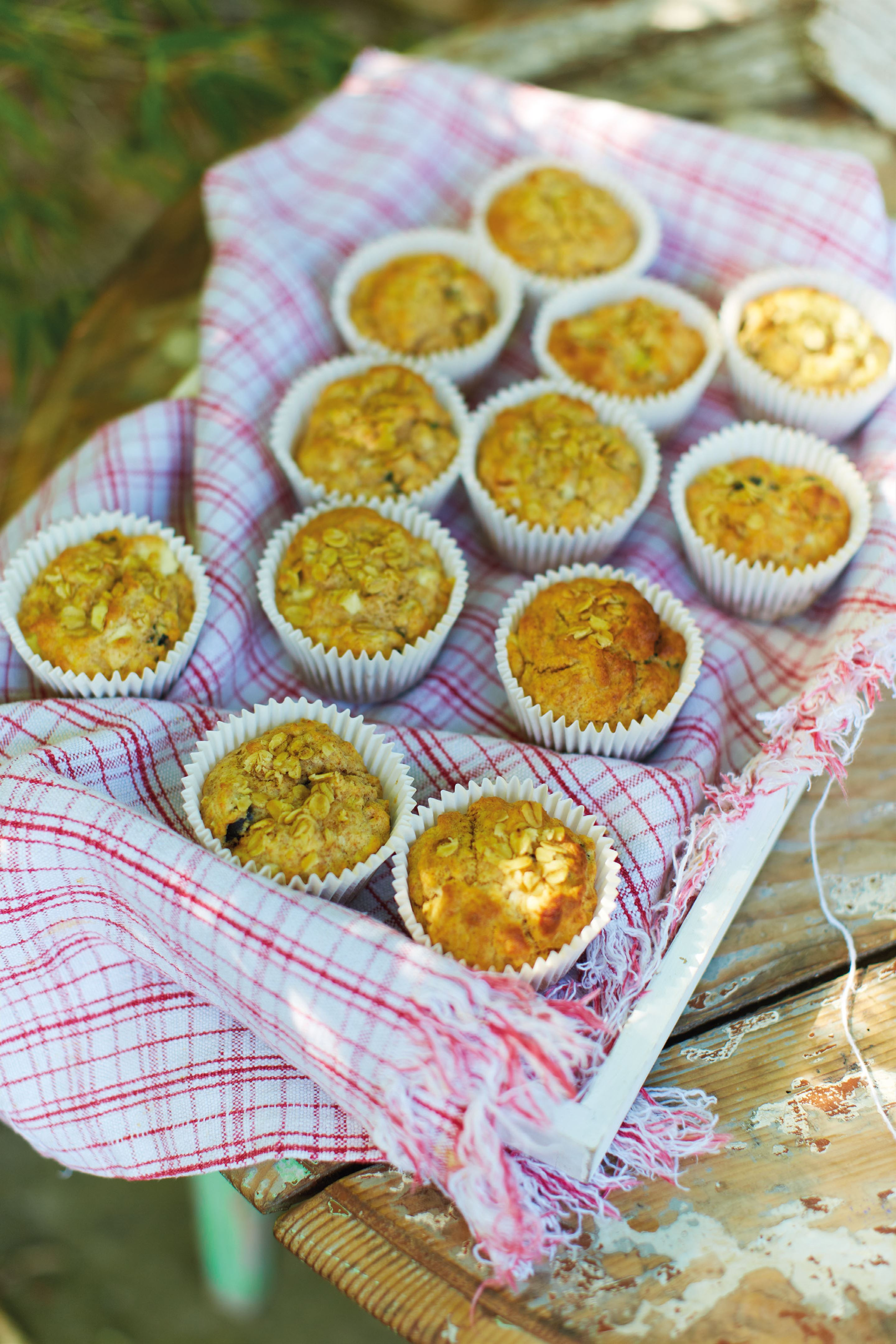Mix it up breakfast muffins
