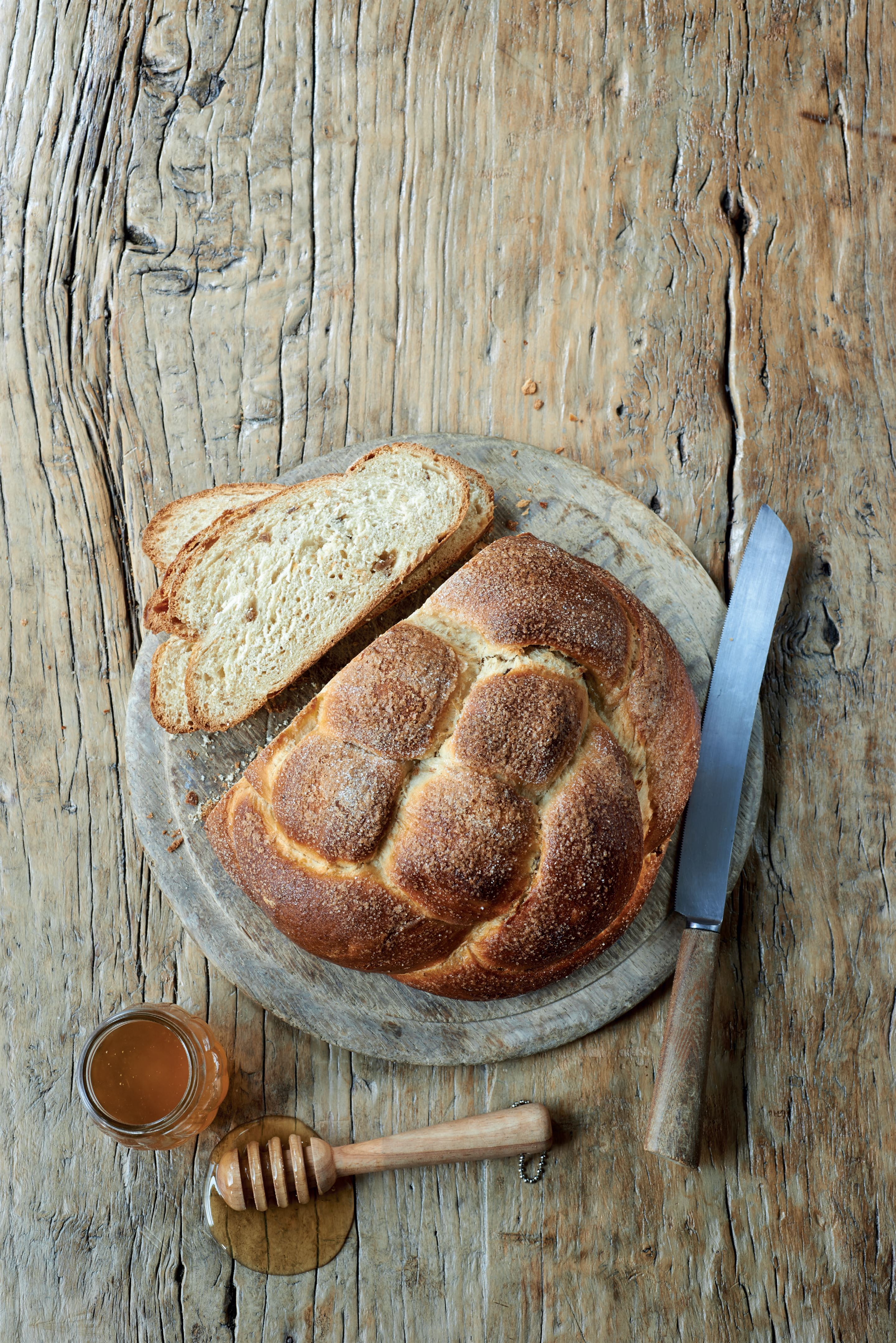 Honey and fig challah