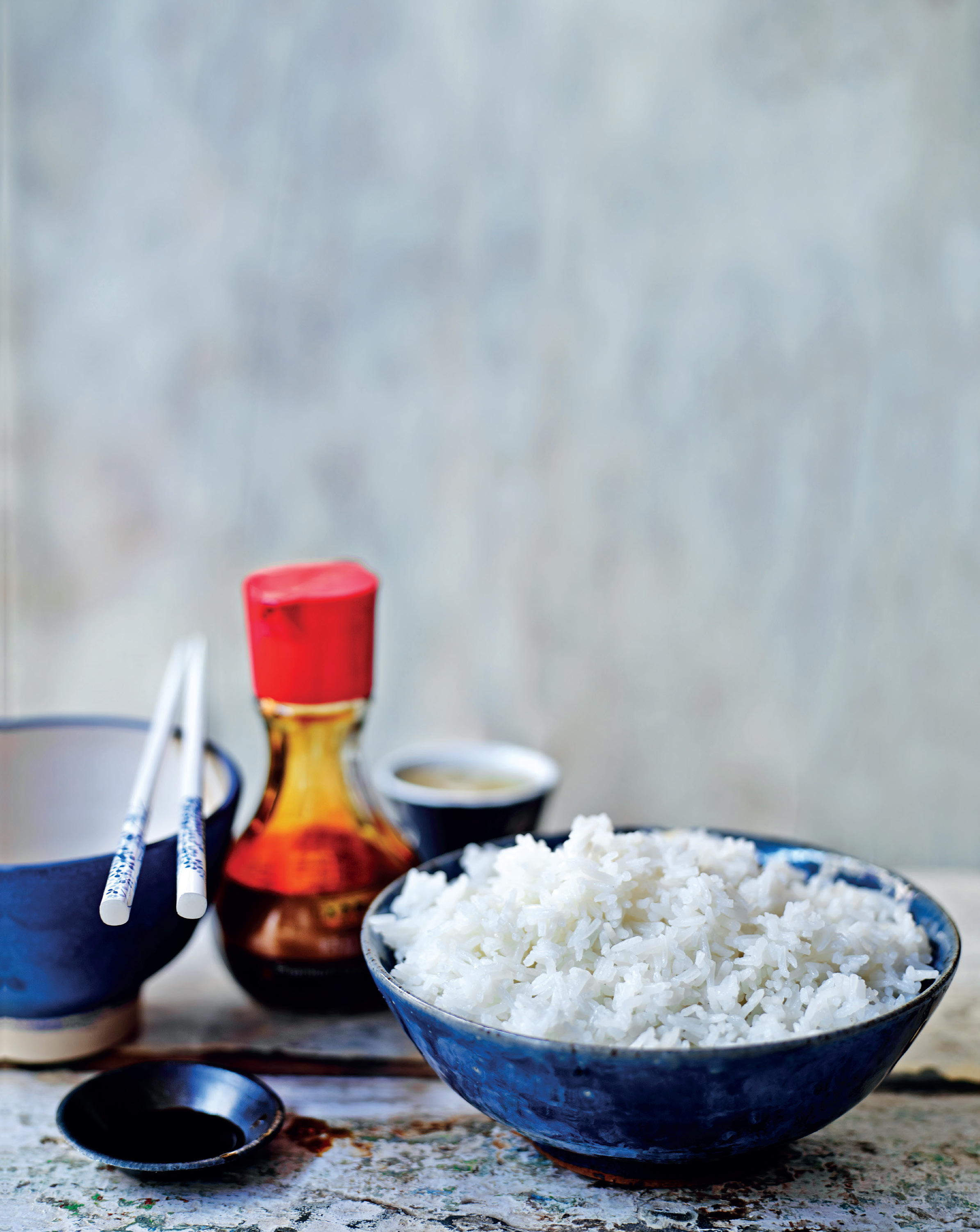 Simple boiled/steamed rice
