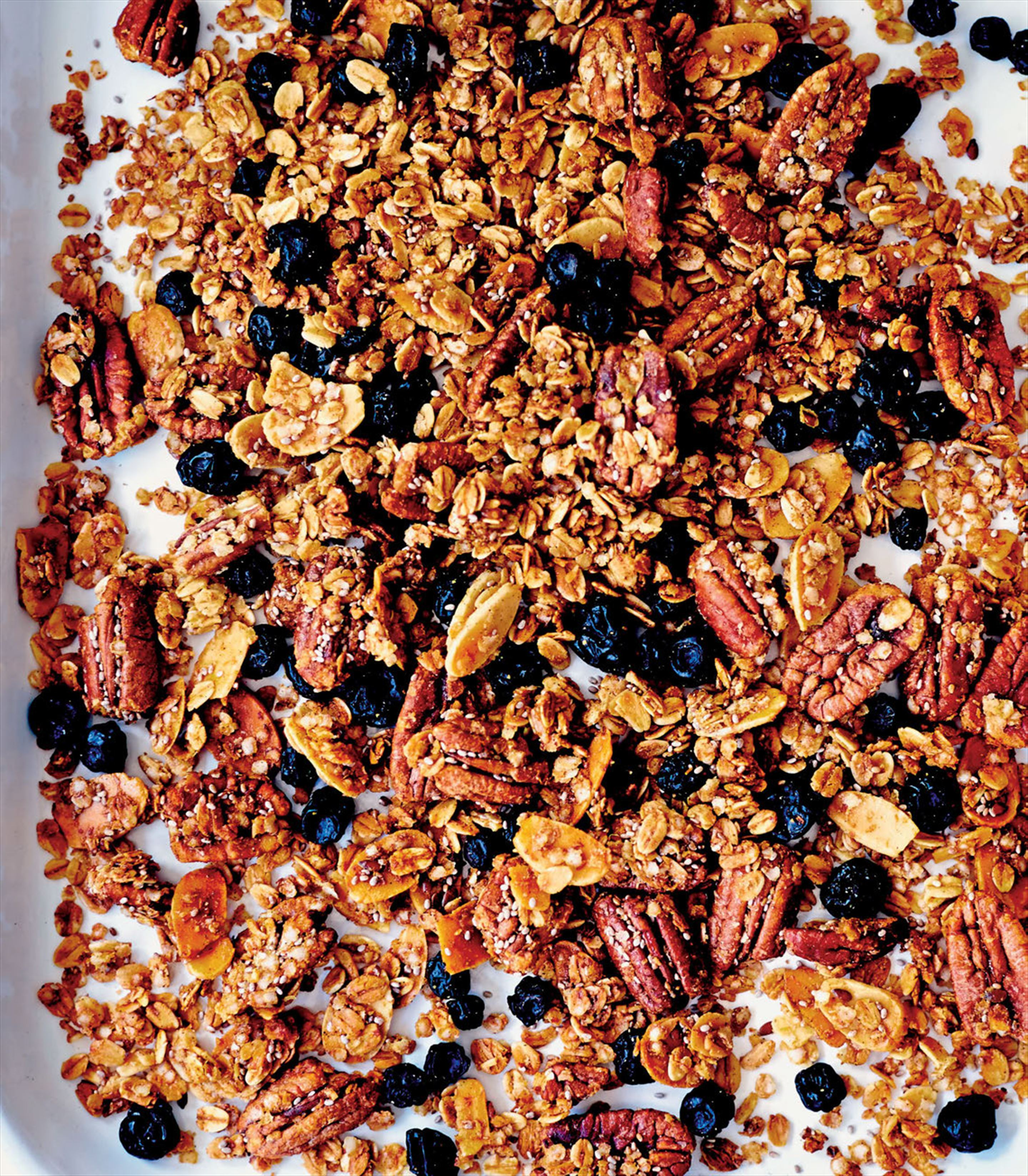 Blueberry pancake granola