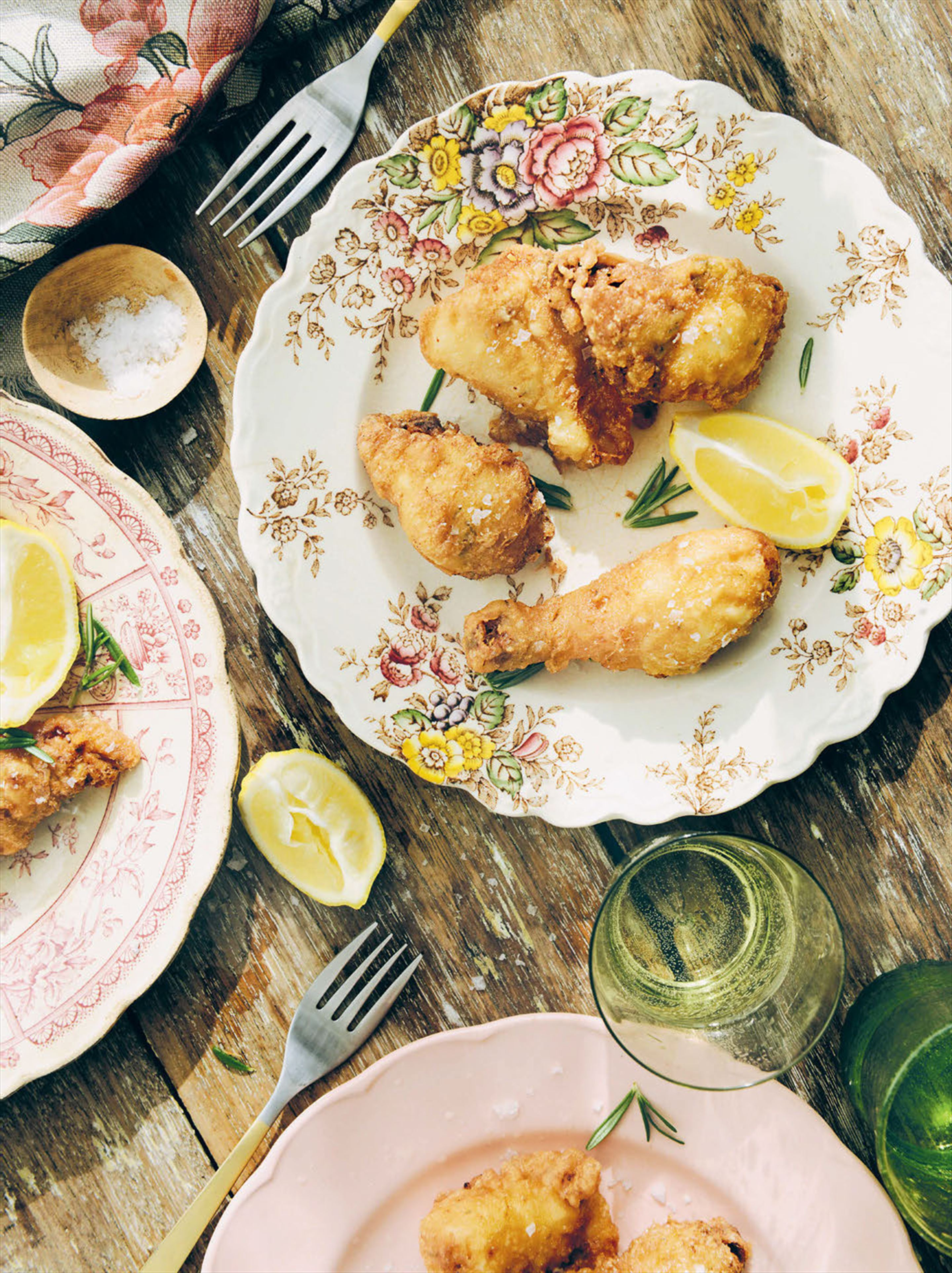 Florentine fried chicken